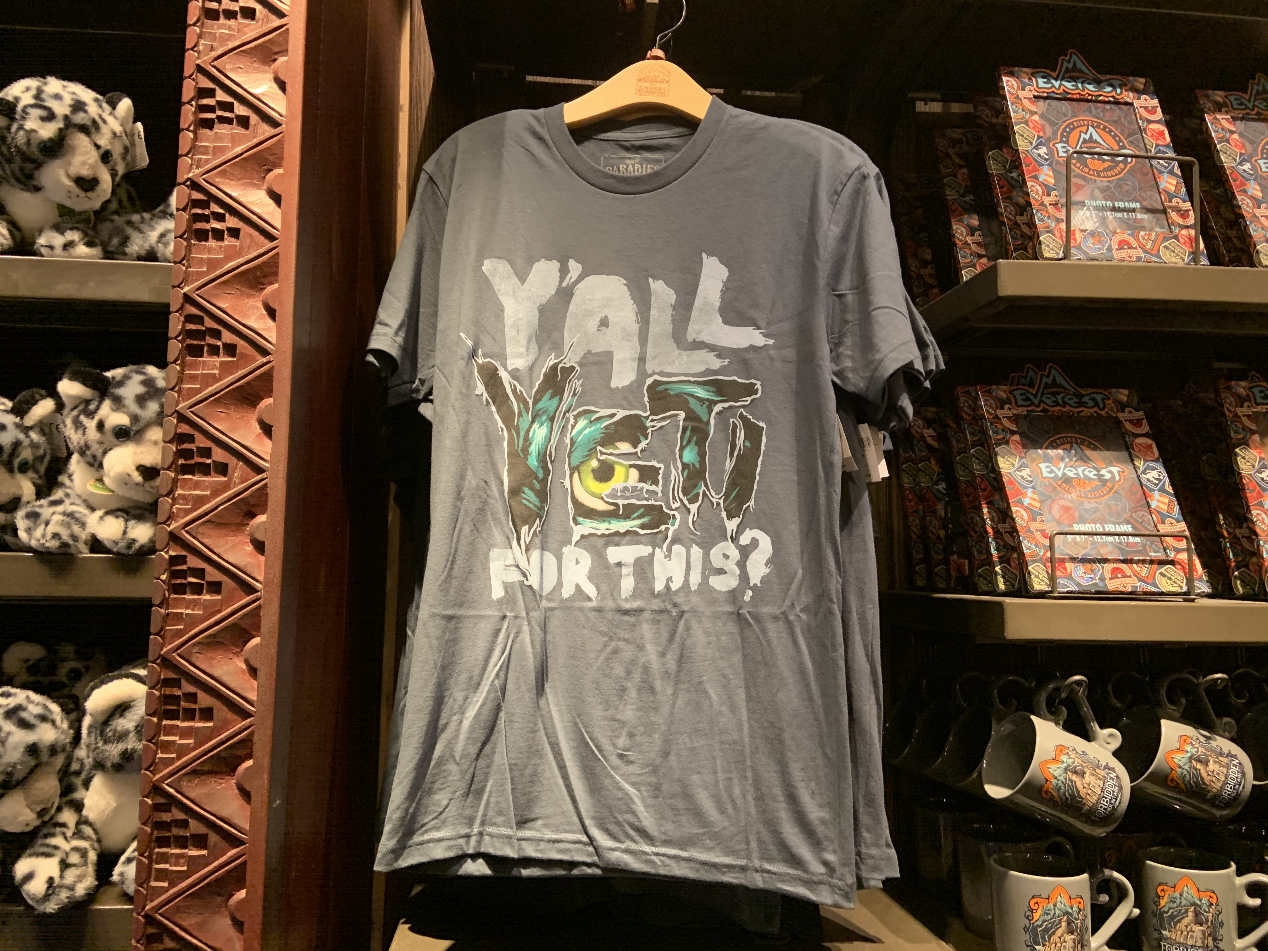 Y'all Yeti for This tee 12/7/`9