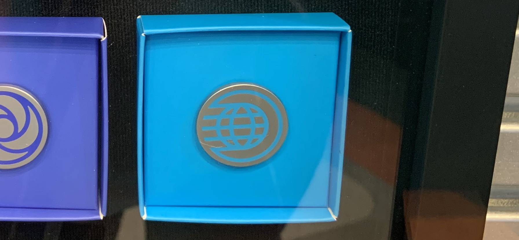 EPCOT pavilion logo pins 12/23/19 15