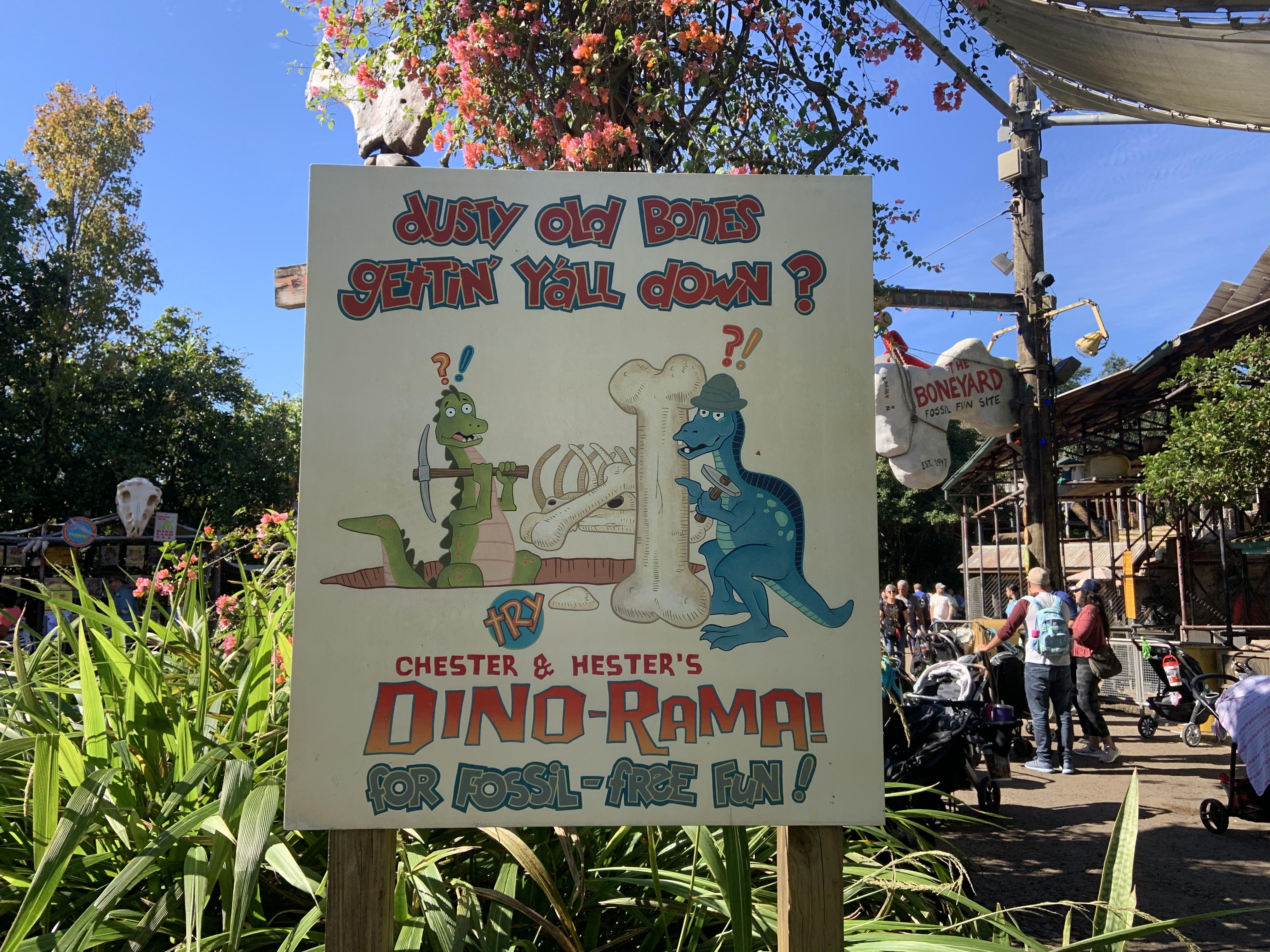 Dinoland sign 12/7/19