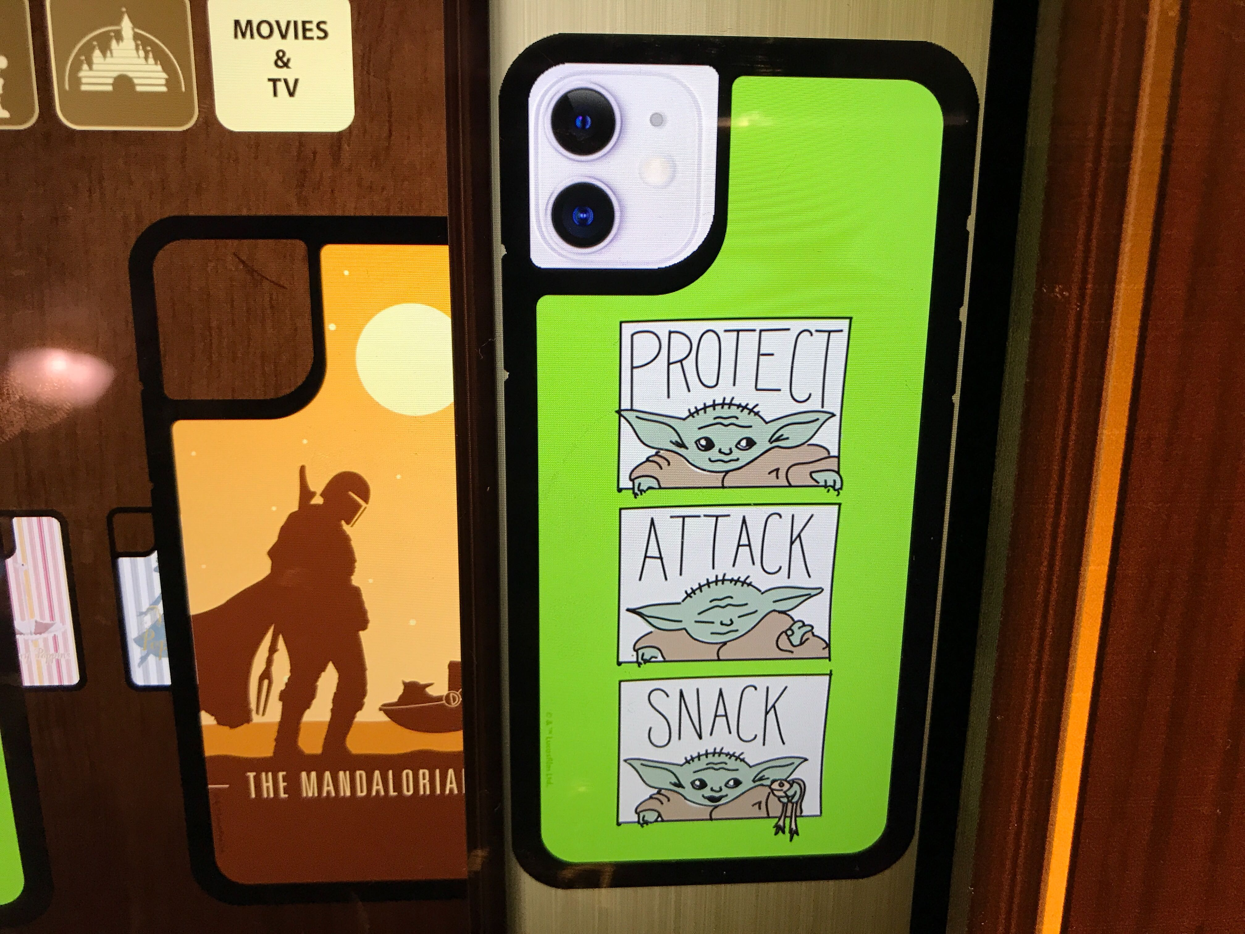 Protect, Attack, Snack The Child Phone Case - $29.99