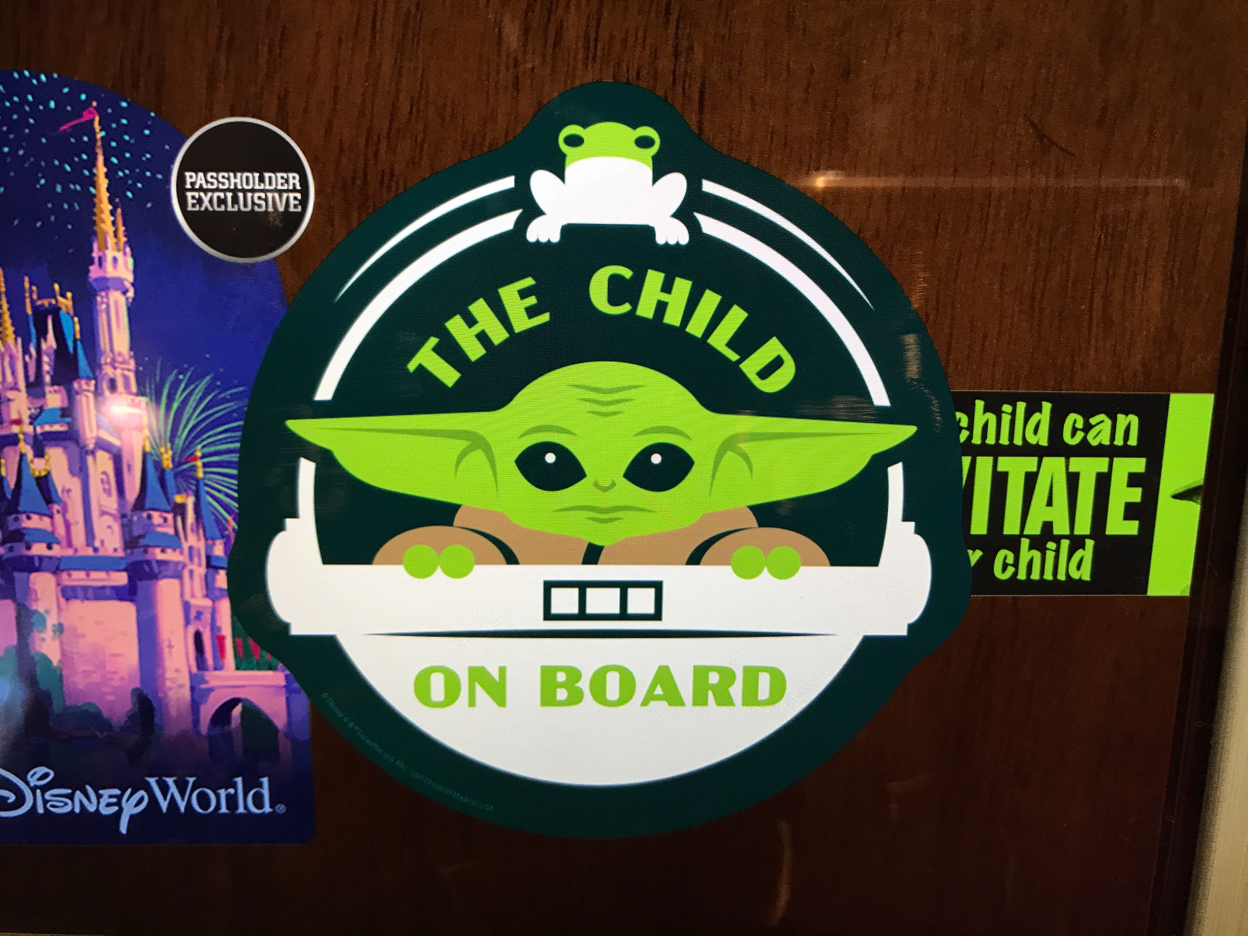 The Child On Board Magnet - $15.00