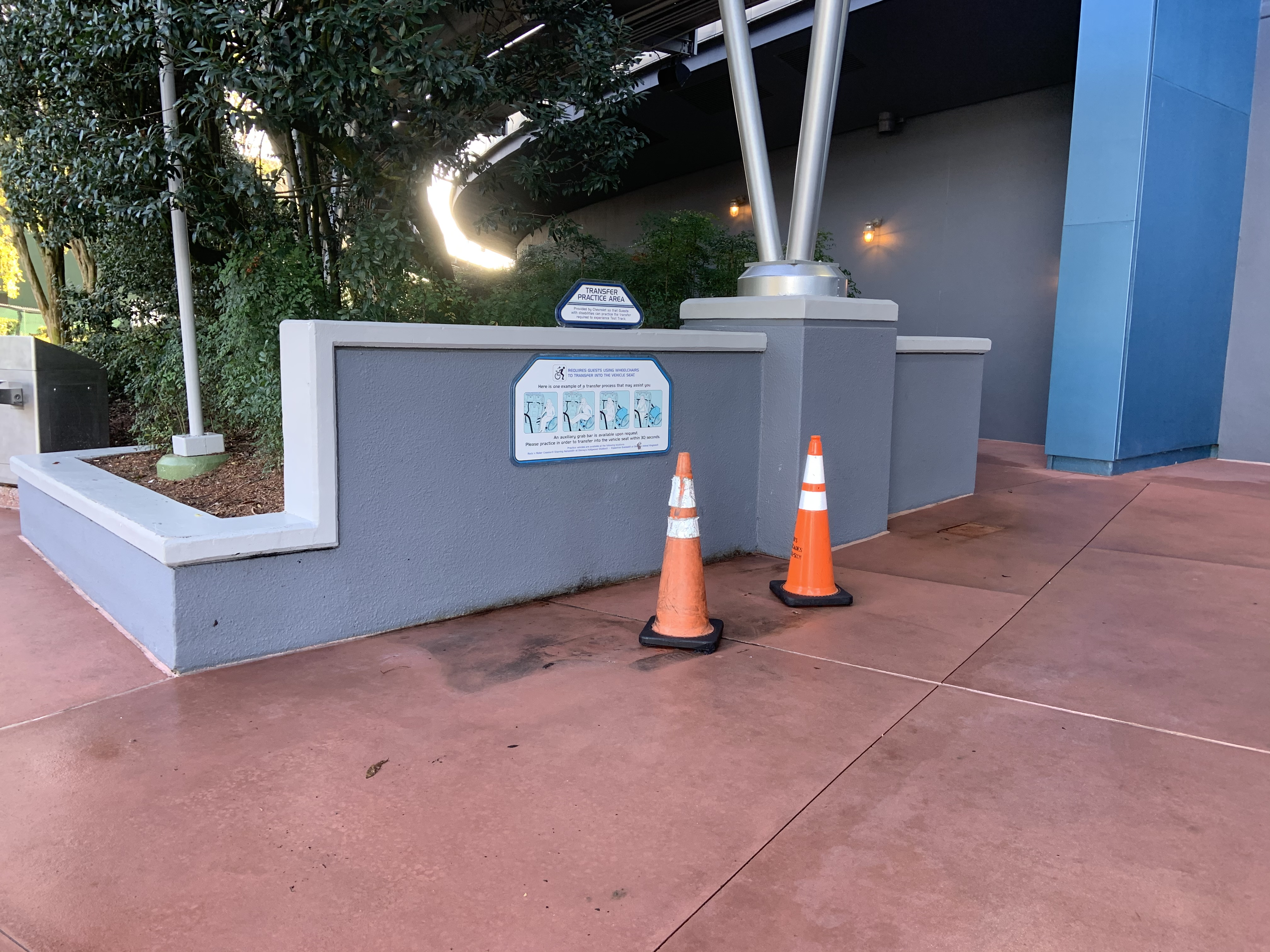 Test Track closed 1/13/20 3