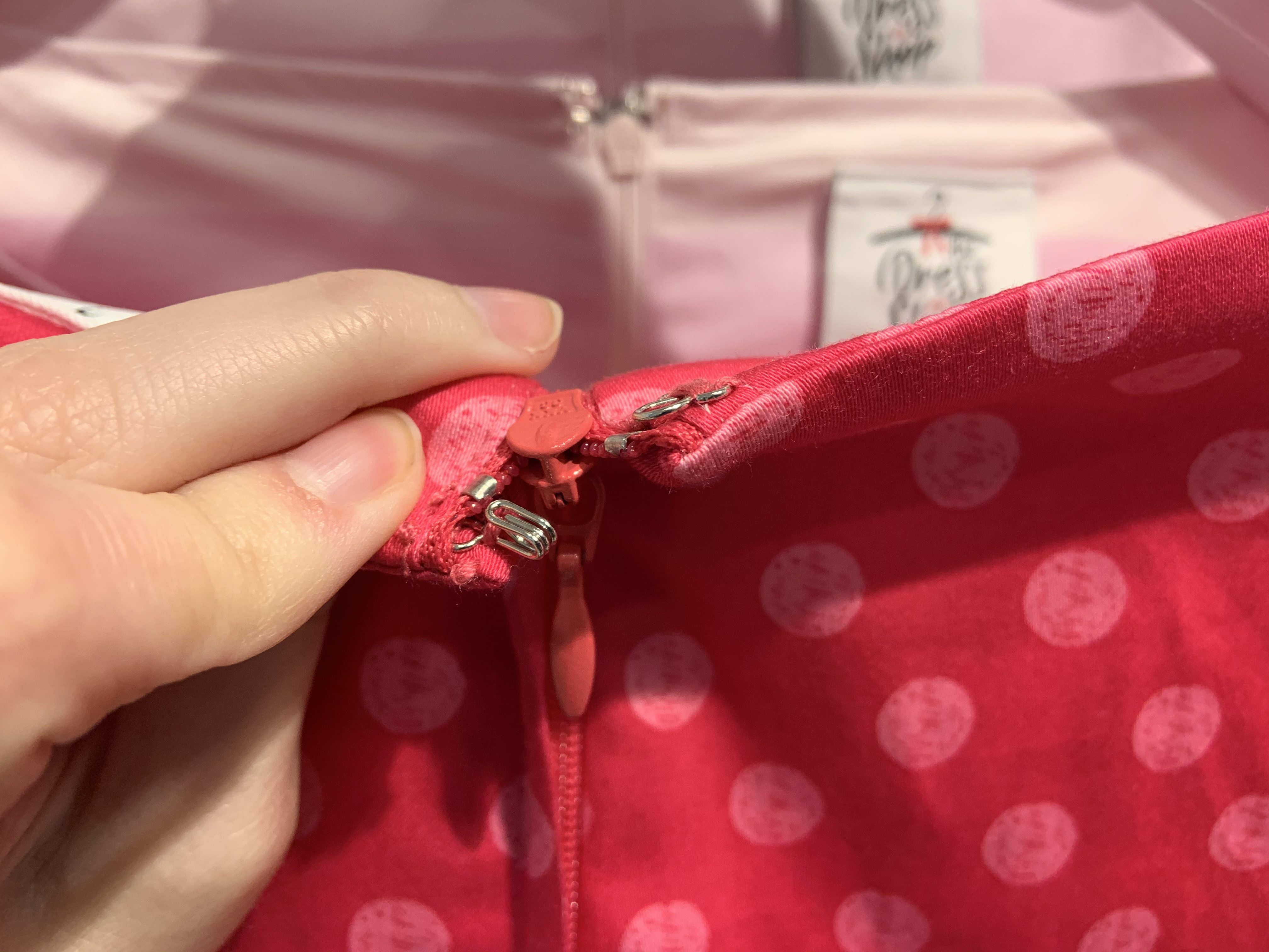 Minnie Mouse Rock the Dots dress 1/18/20 9
