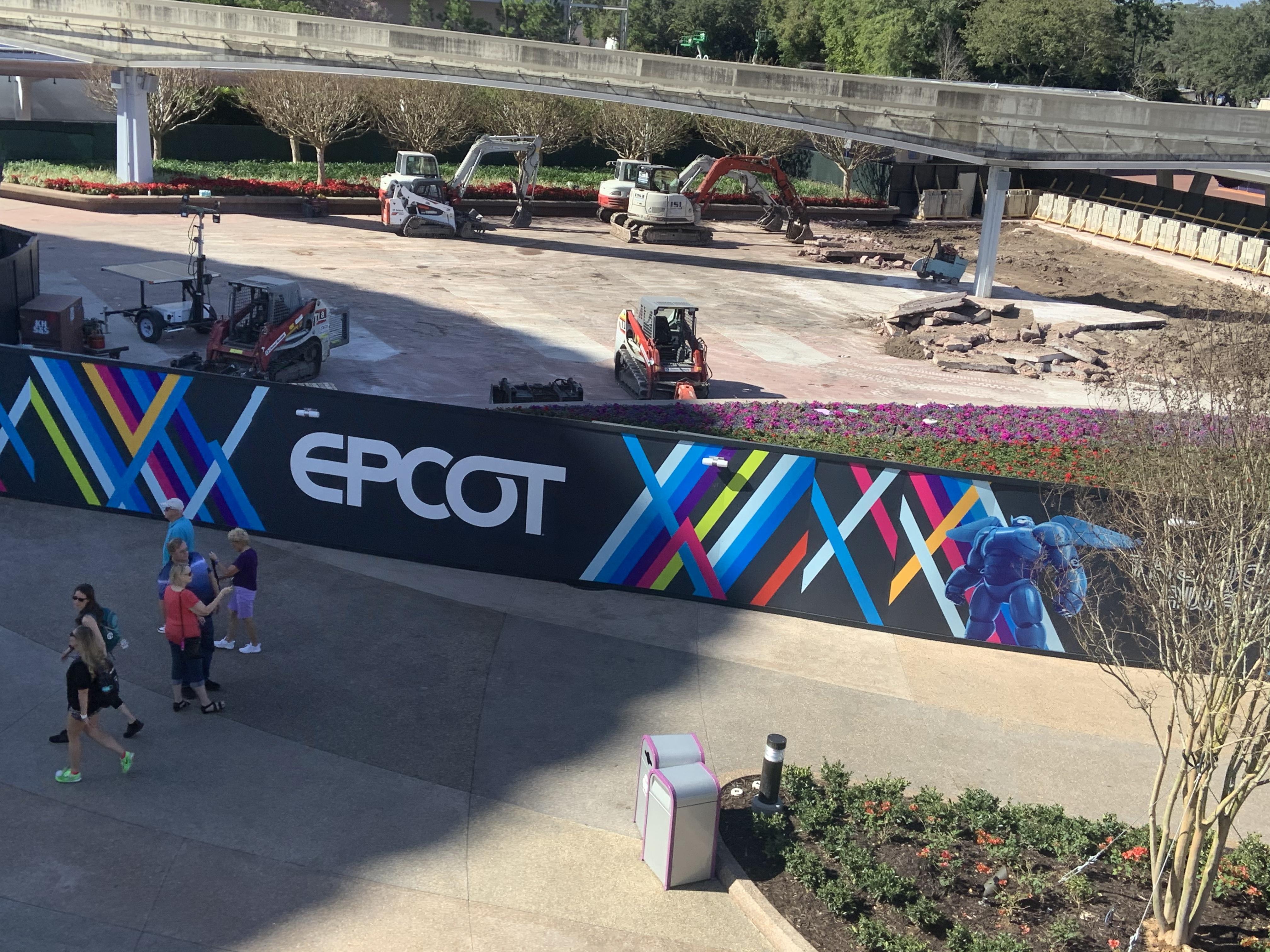 EPCOT entry fountain 1/13/20 1