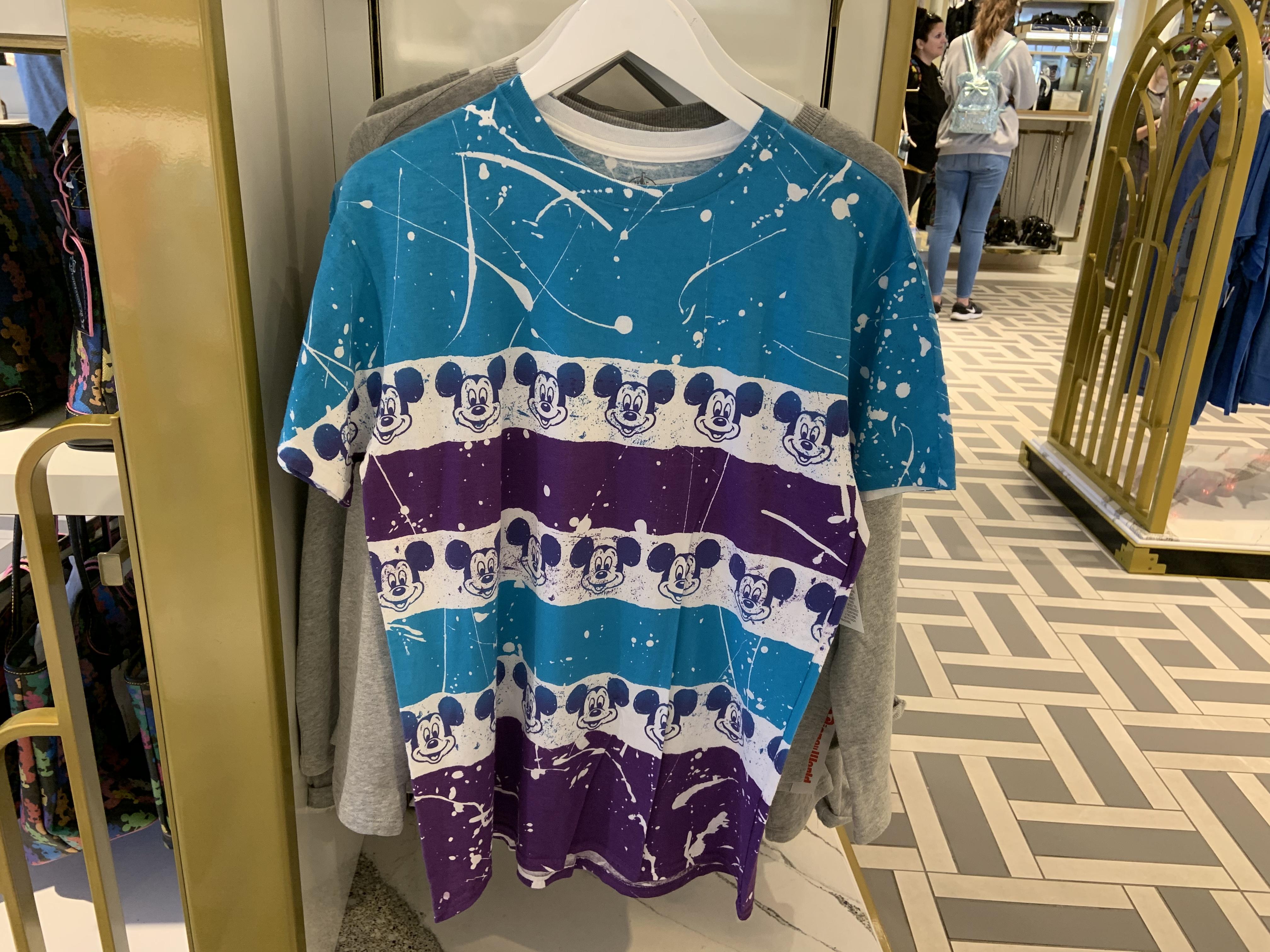Pain splatter Mickey shirt 1/18/20 1