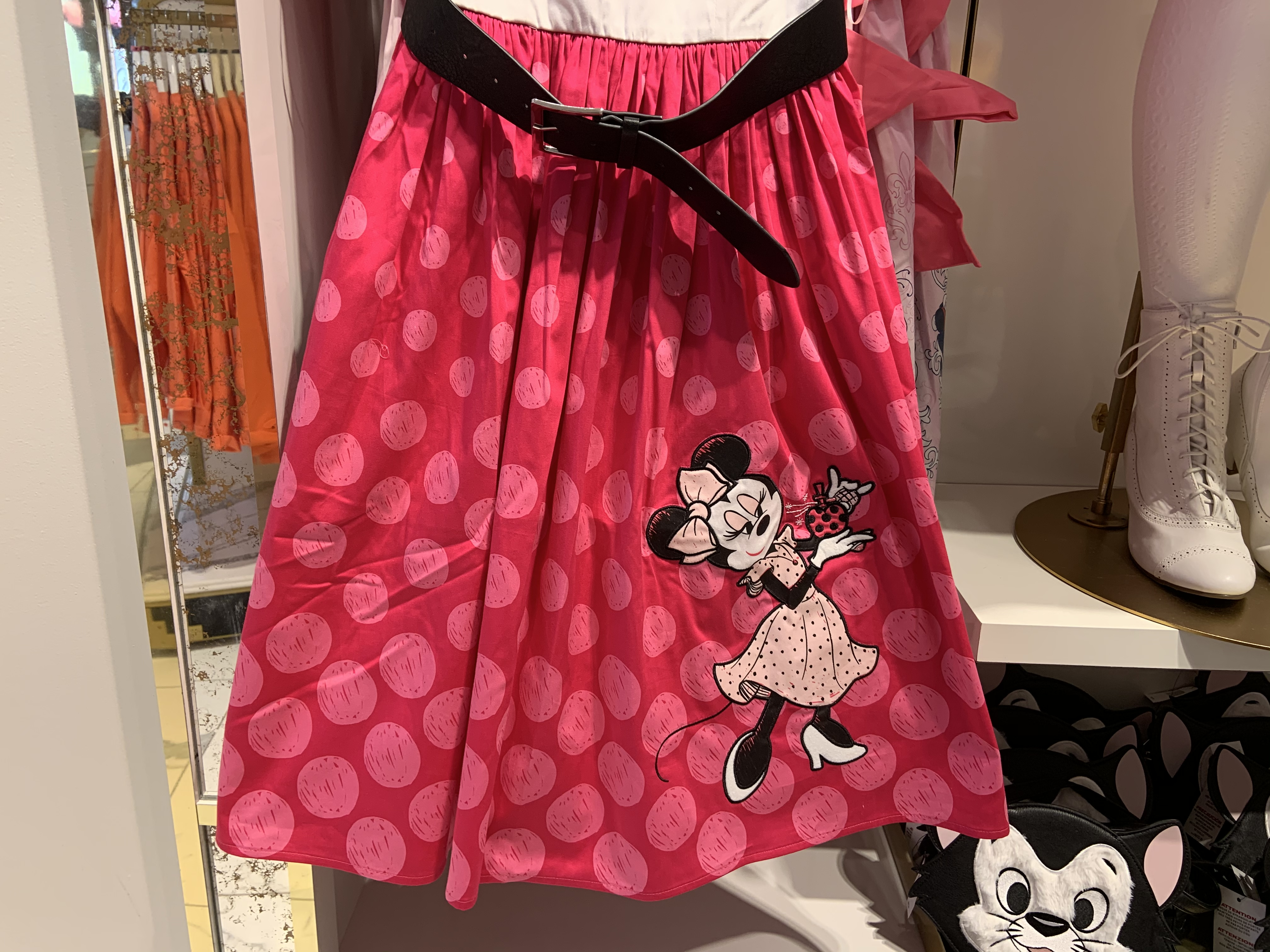 Minnie Mouse Rock the Dots dress 1/18/20 3