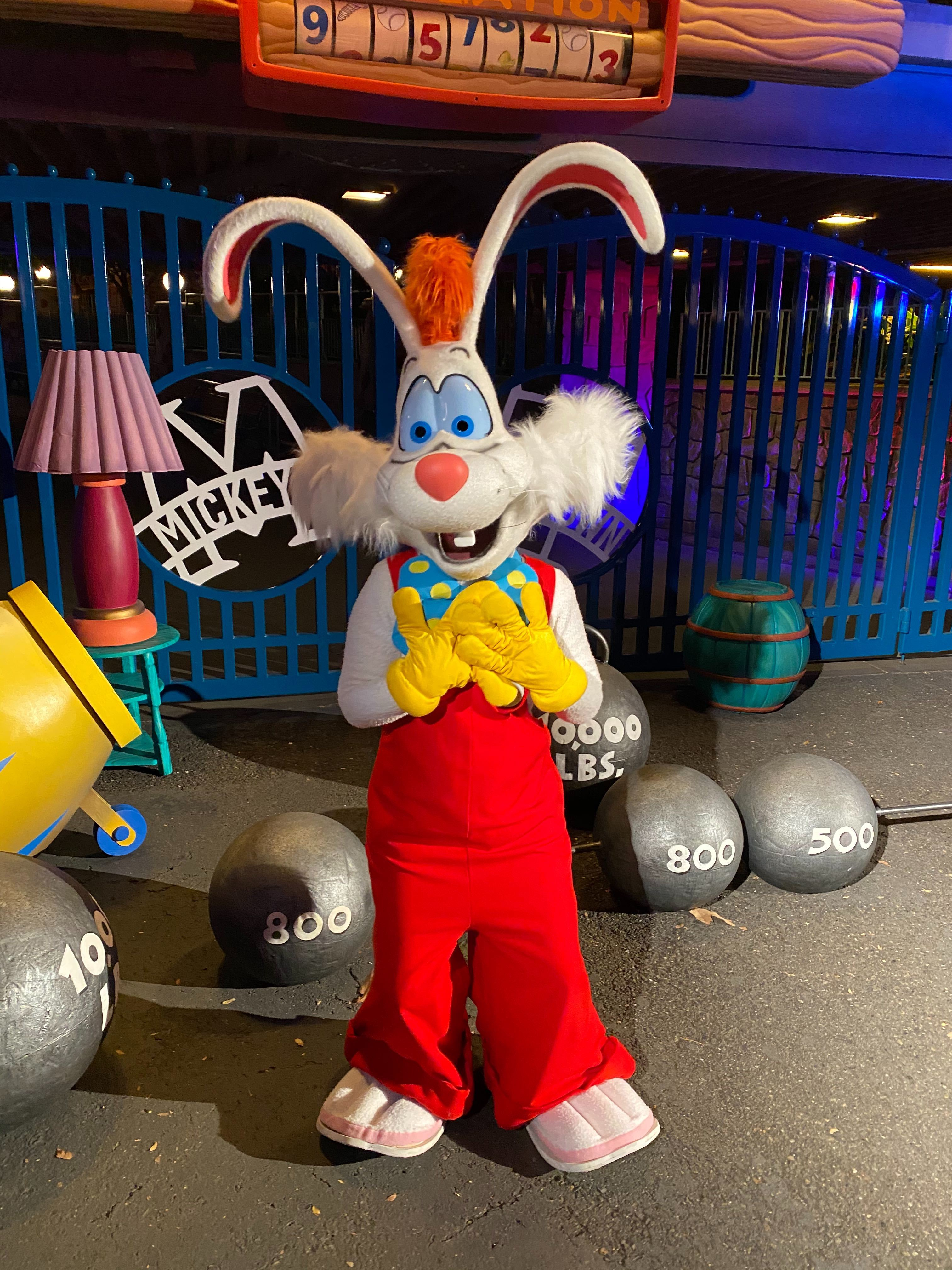 Roger Rabbit Disneyland After Dark: 80's Nite