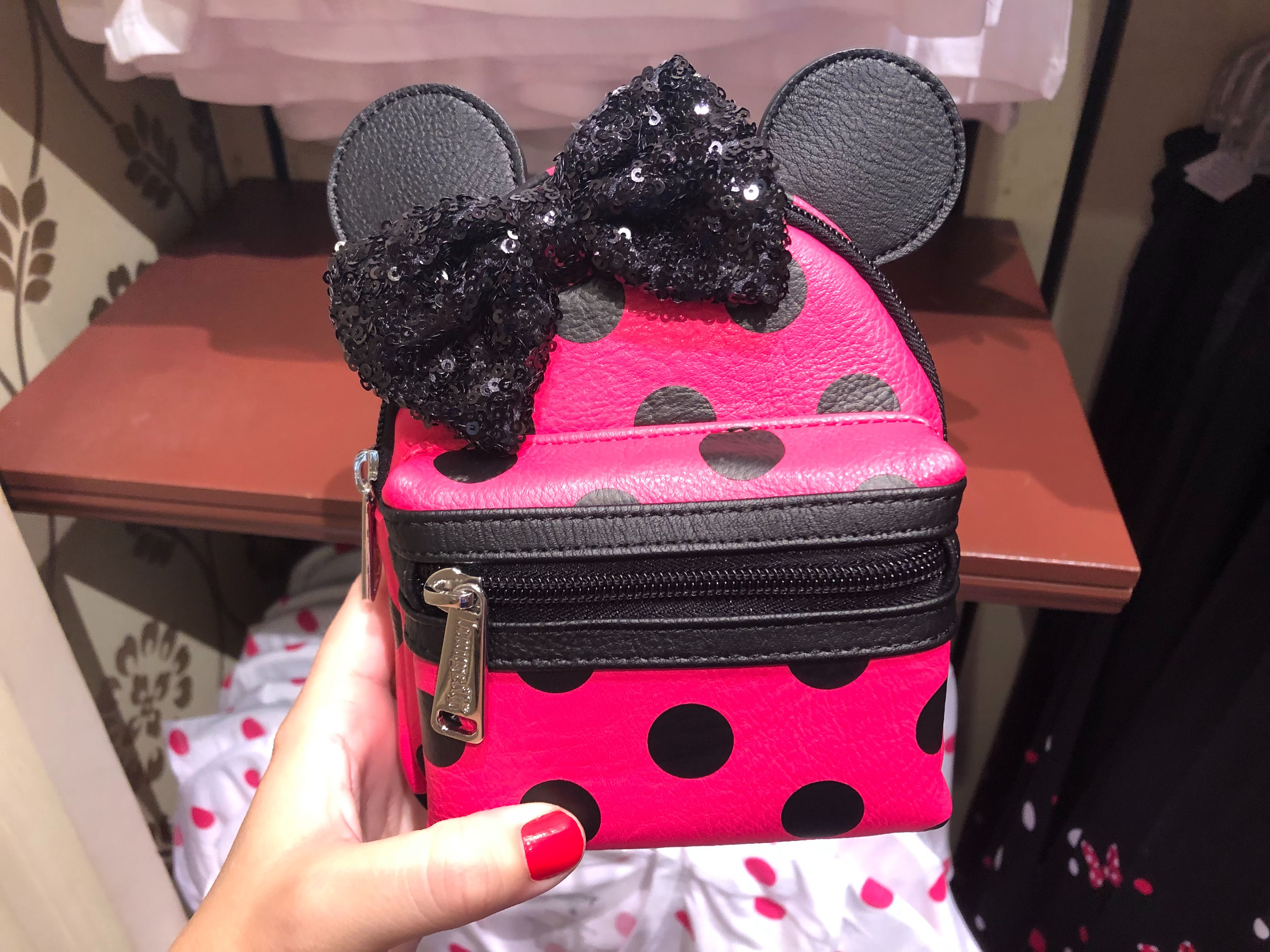 rock the dots Minnie Mouse loungefly