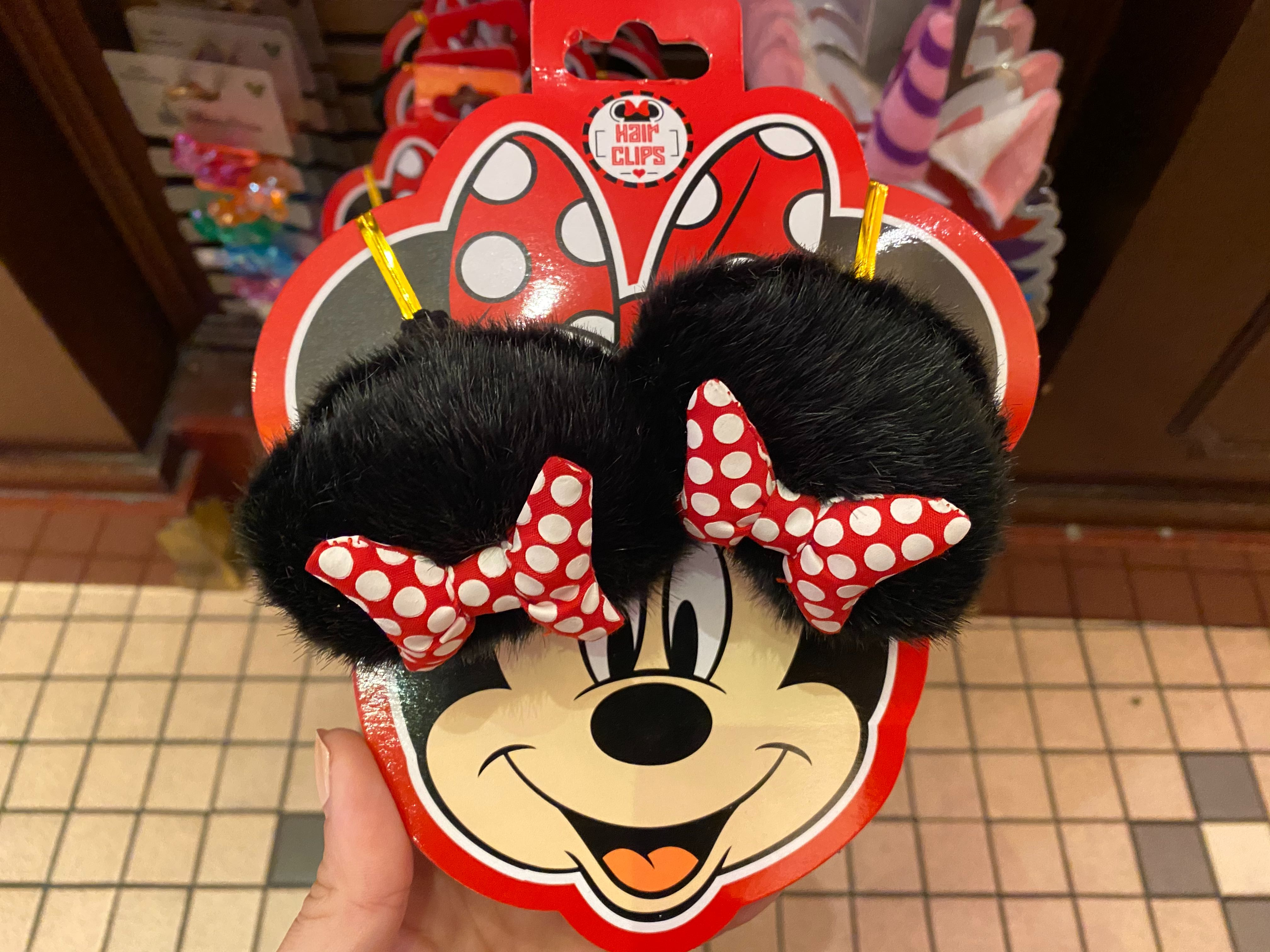Minnie Mouse Hair Clips - $9.99
