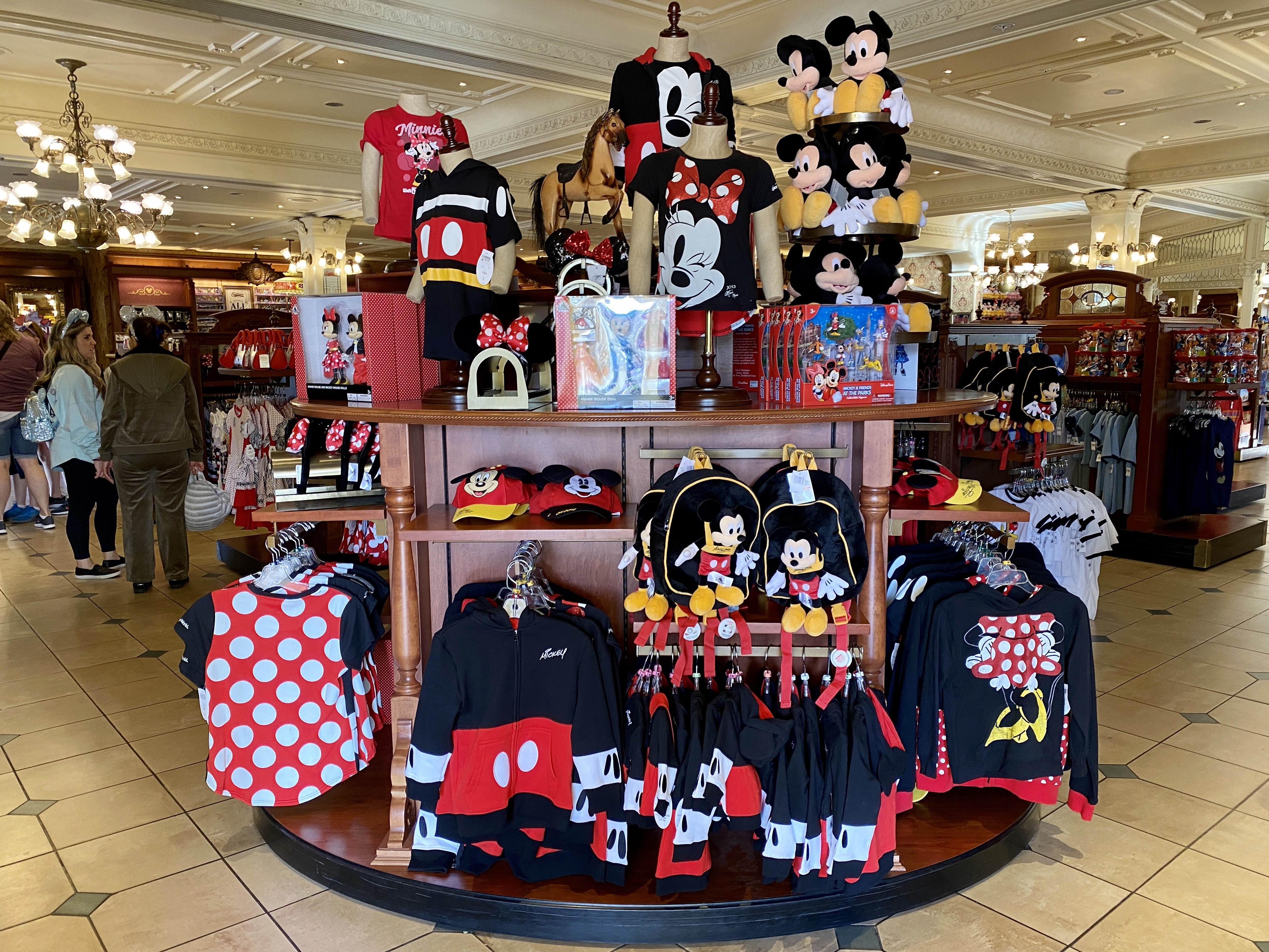 Mickey Mouse Merch display