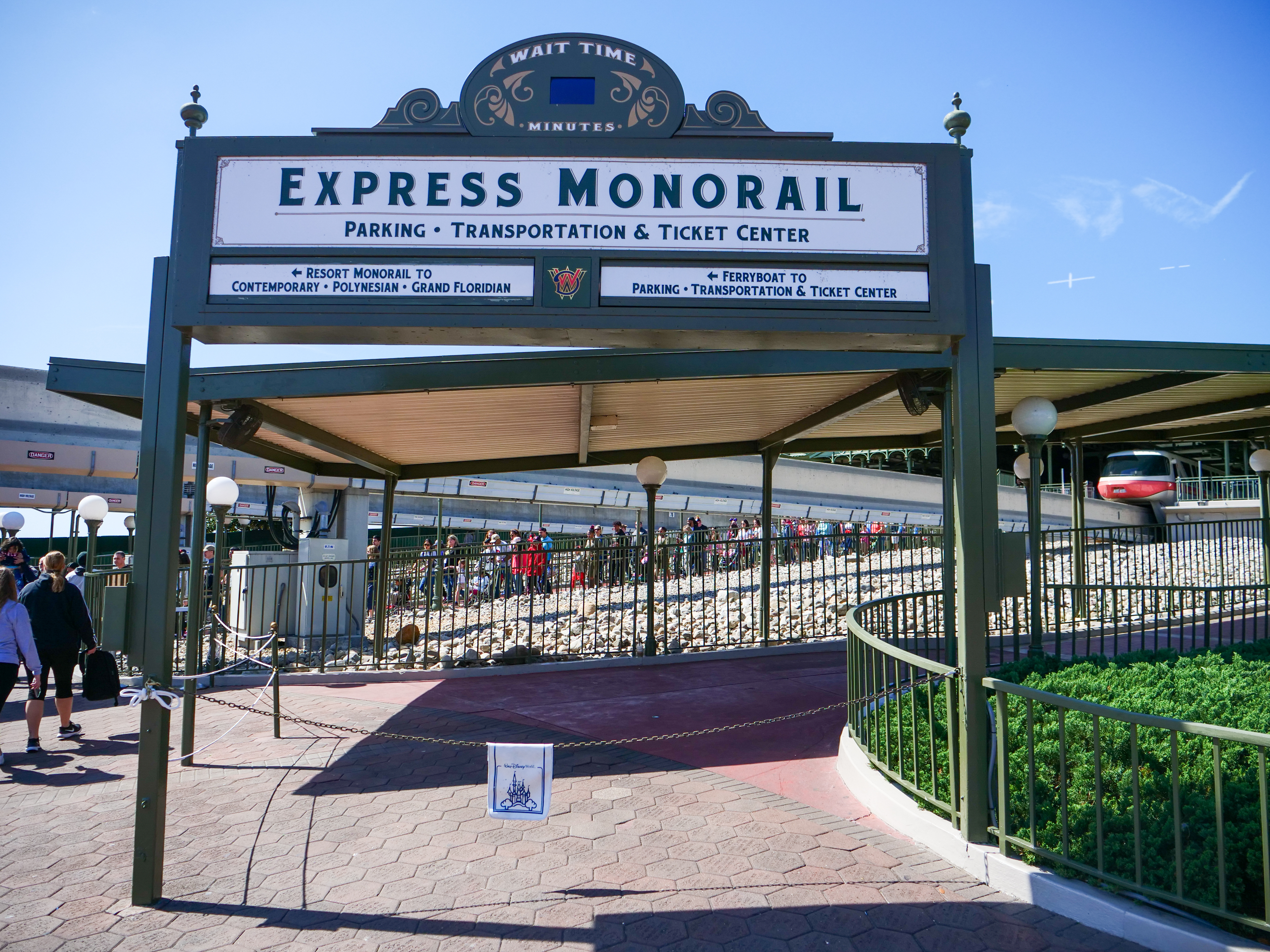 Express Monorail Closed