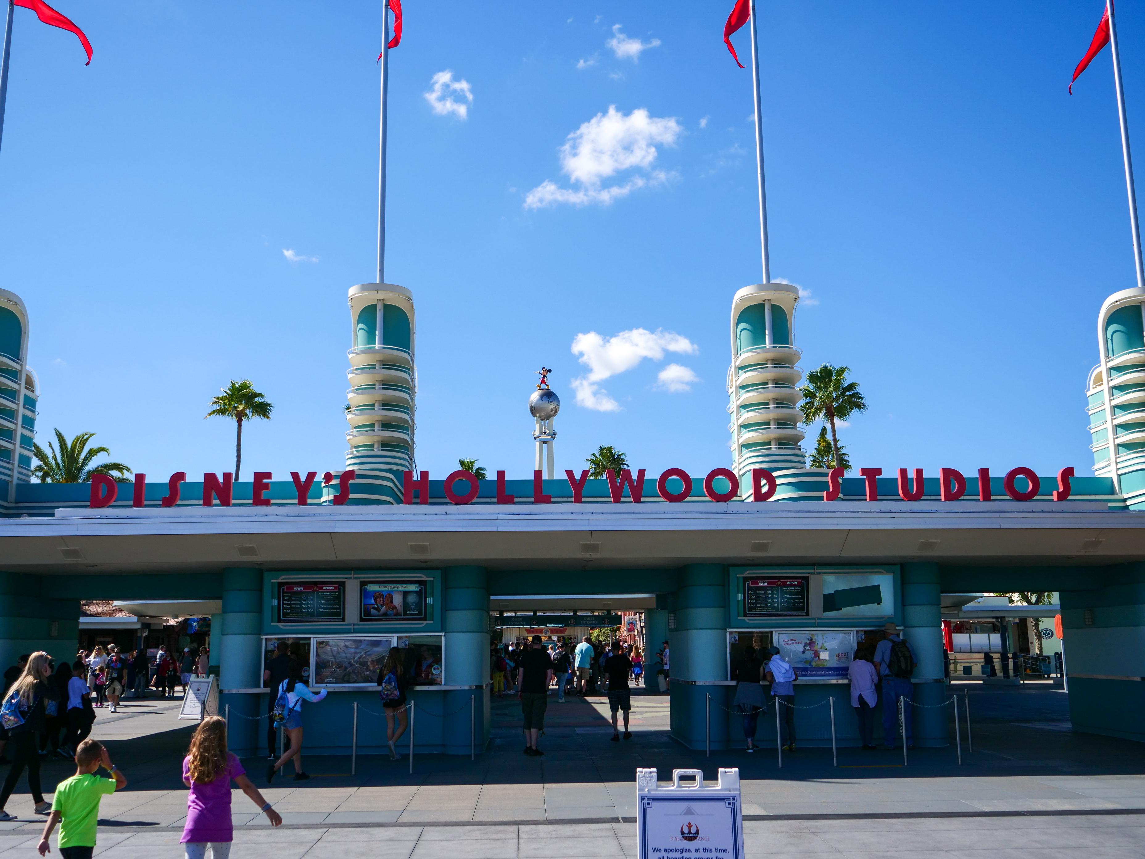 Hollywood Studios Entrance