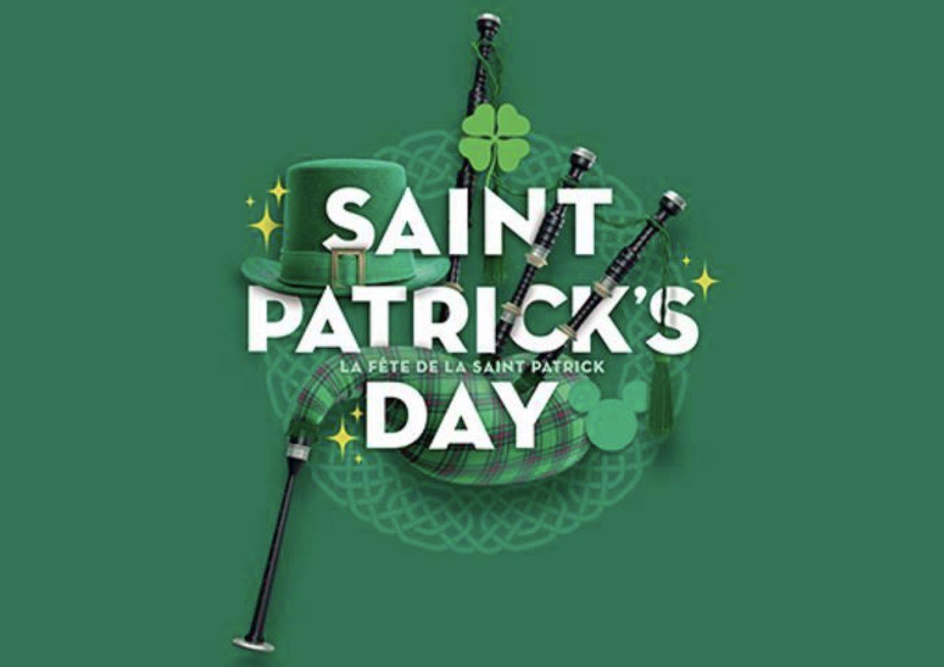 St. Patrick's Day Disneyland Paris Logo