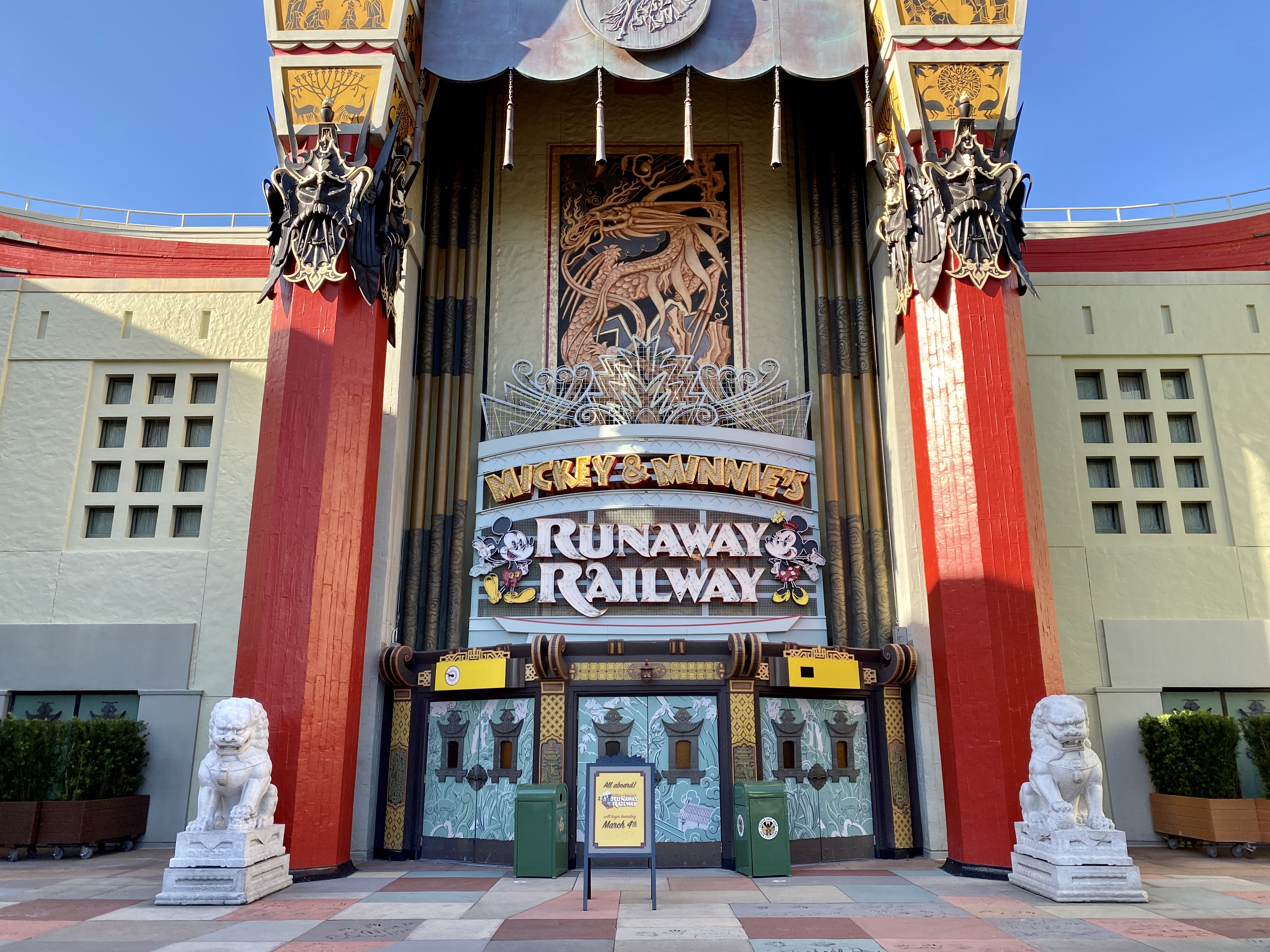 Mickey Mouse runaway railway