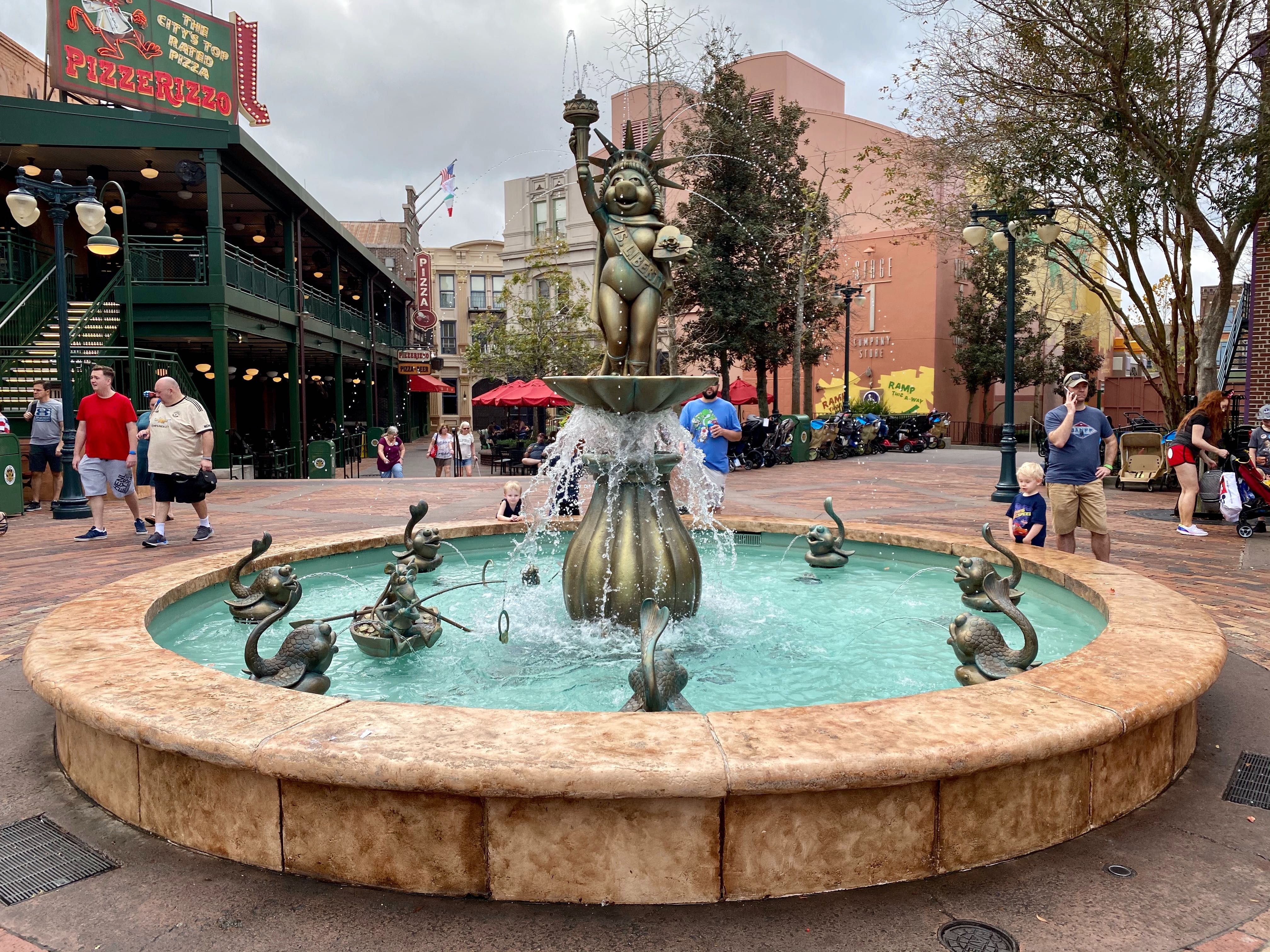 muppets fountain rats return