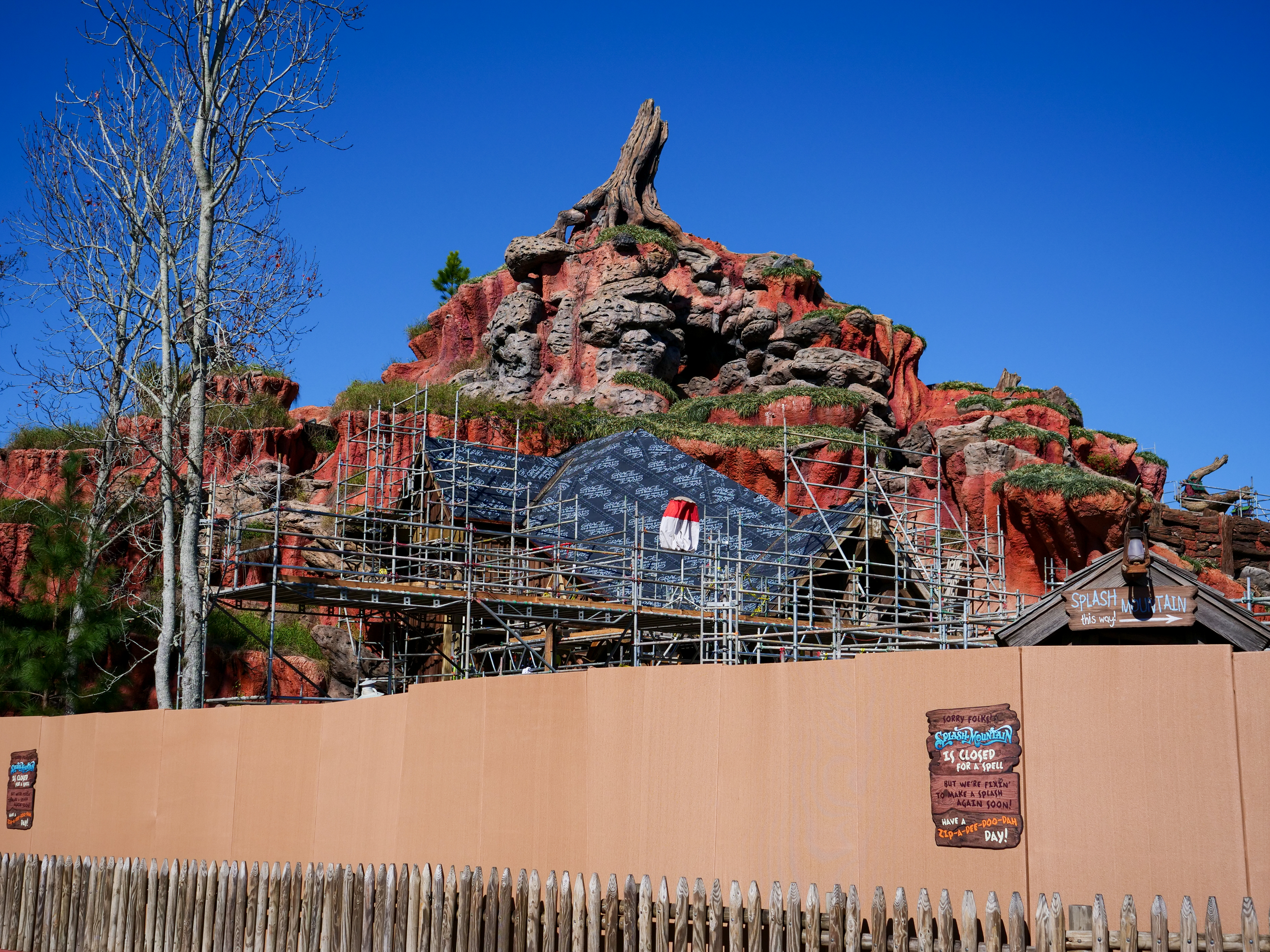 Splash Mountain Refurbishment