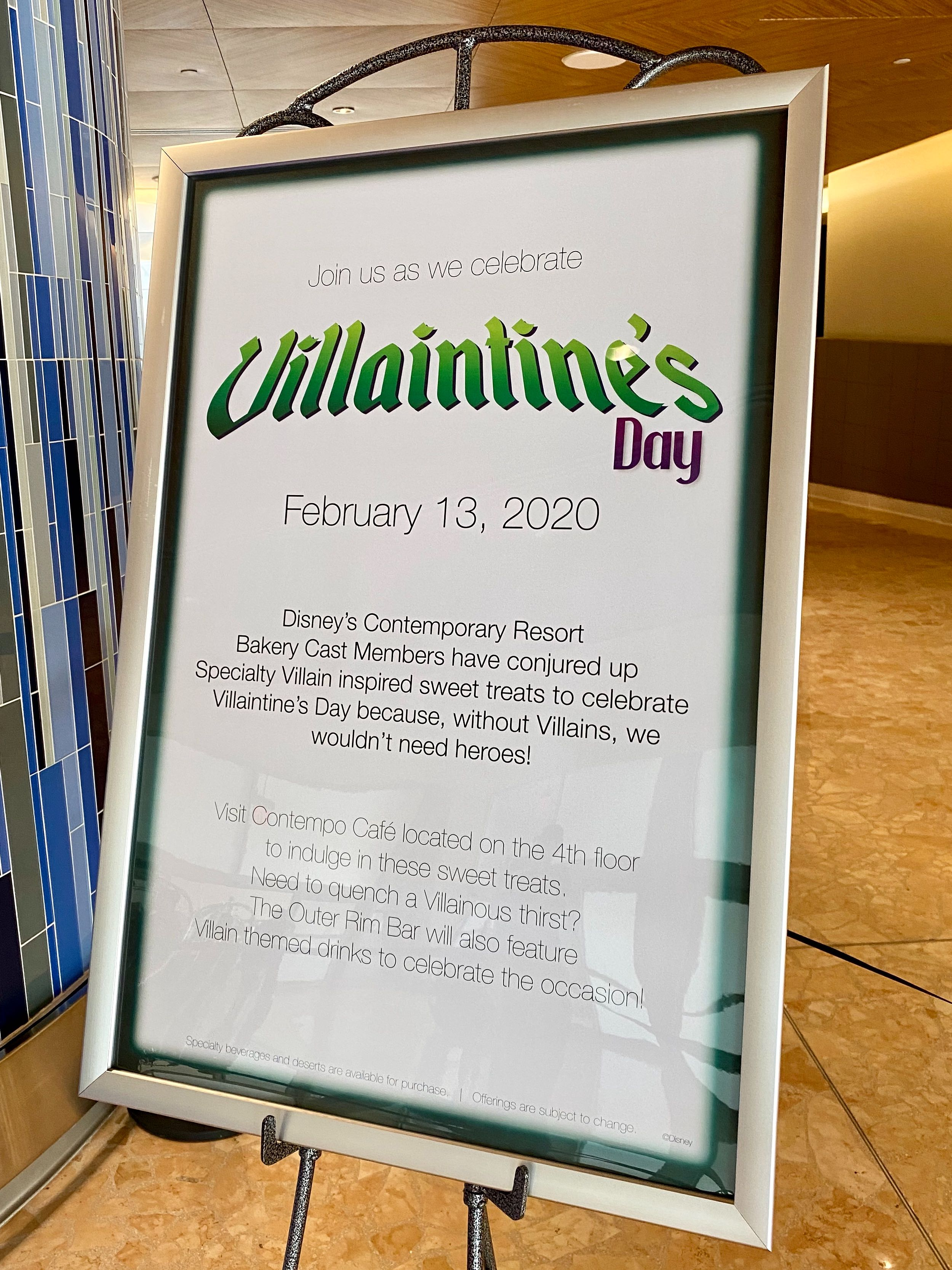 villaintines day 20 contemporary