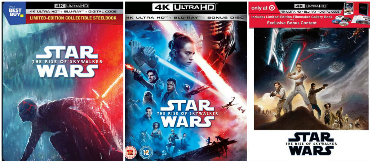 Video Star Wars The Rise Of Skywalker Coming To 4k Uhd On March 31 And Digital On March 17 Wdw News Today