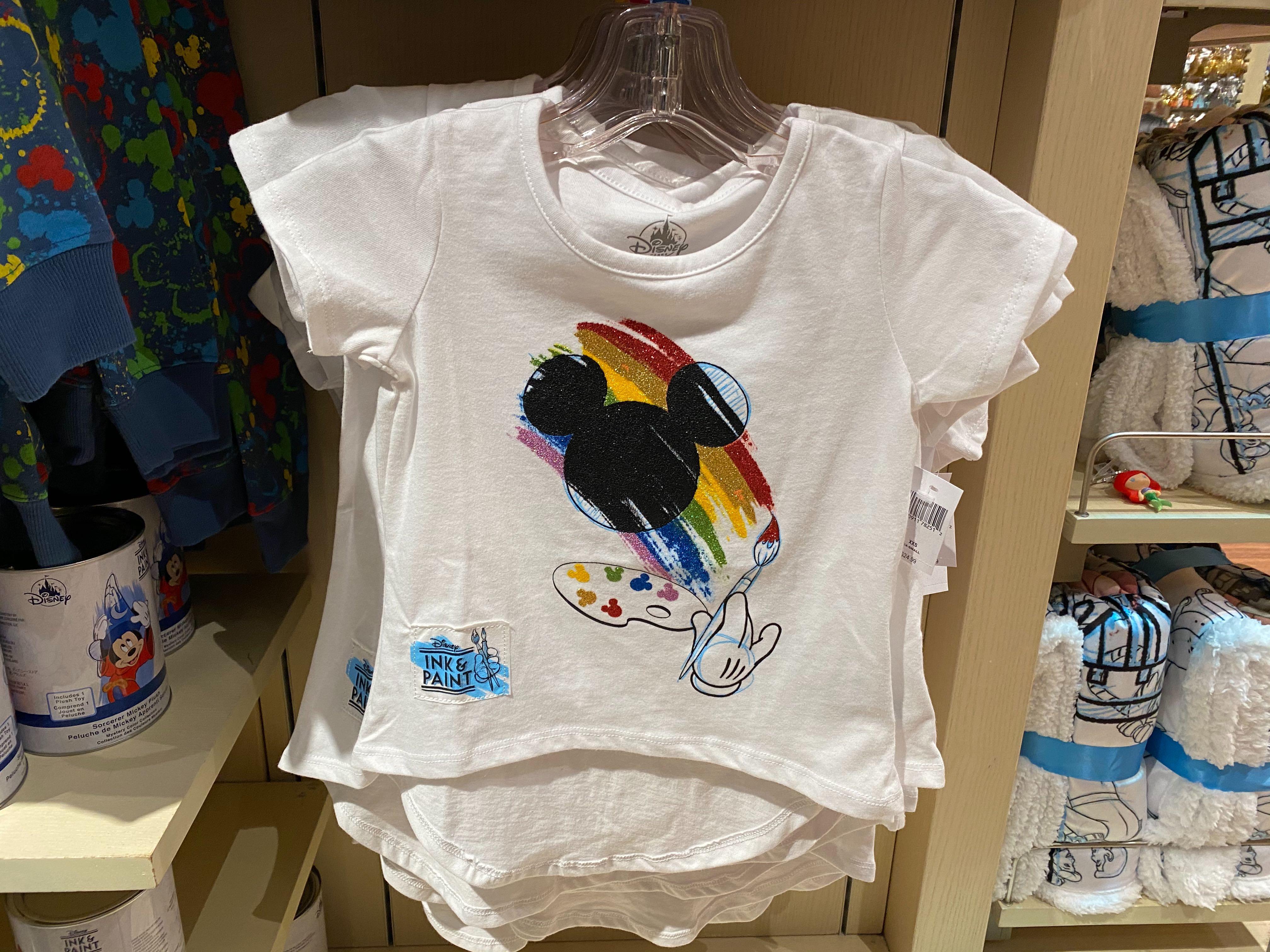 Girls Glitter Paint Shirt - $24.99