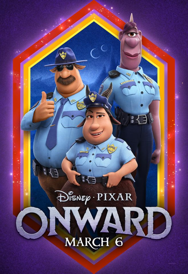 onward officers poster