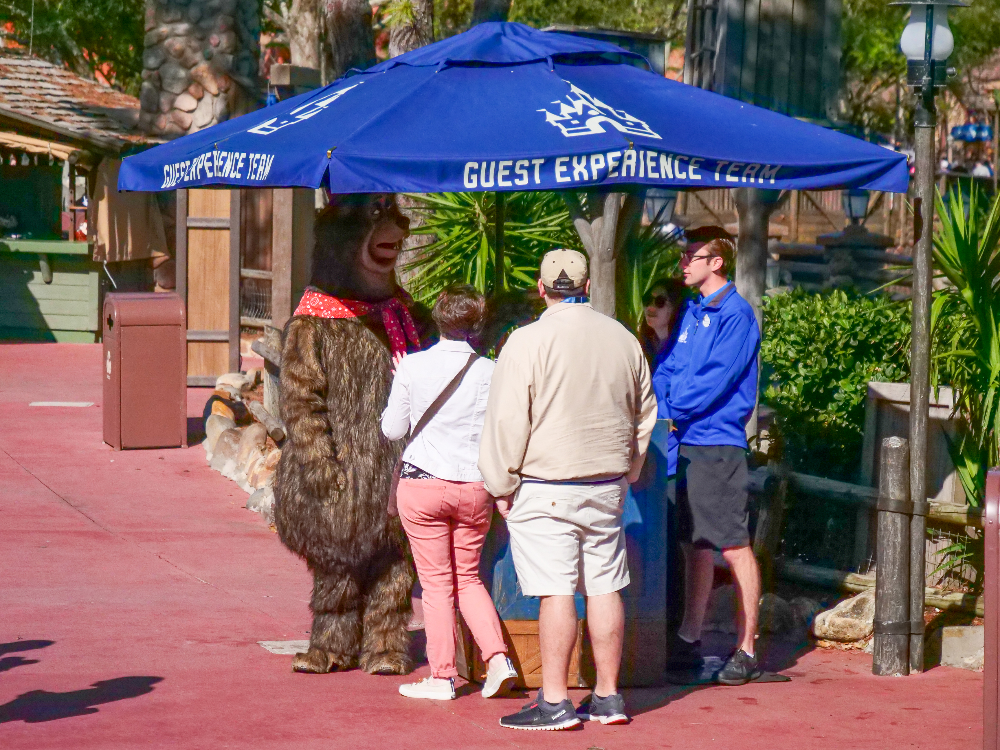 Country Bear at Guest Experience Team