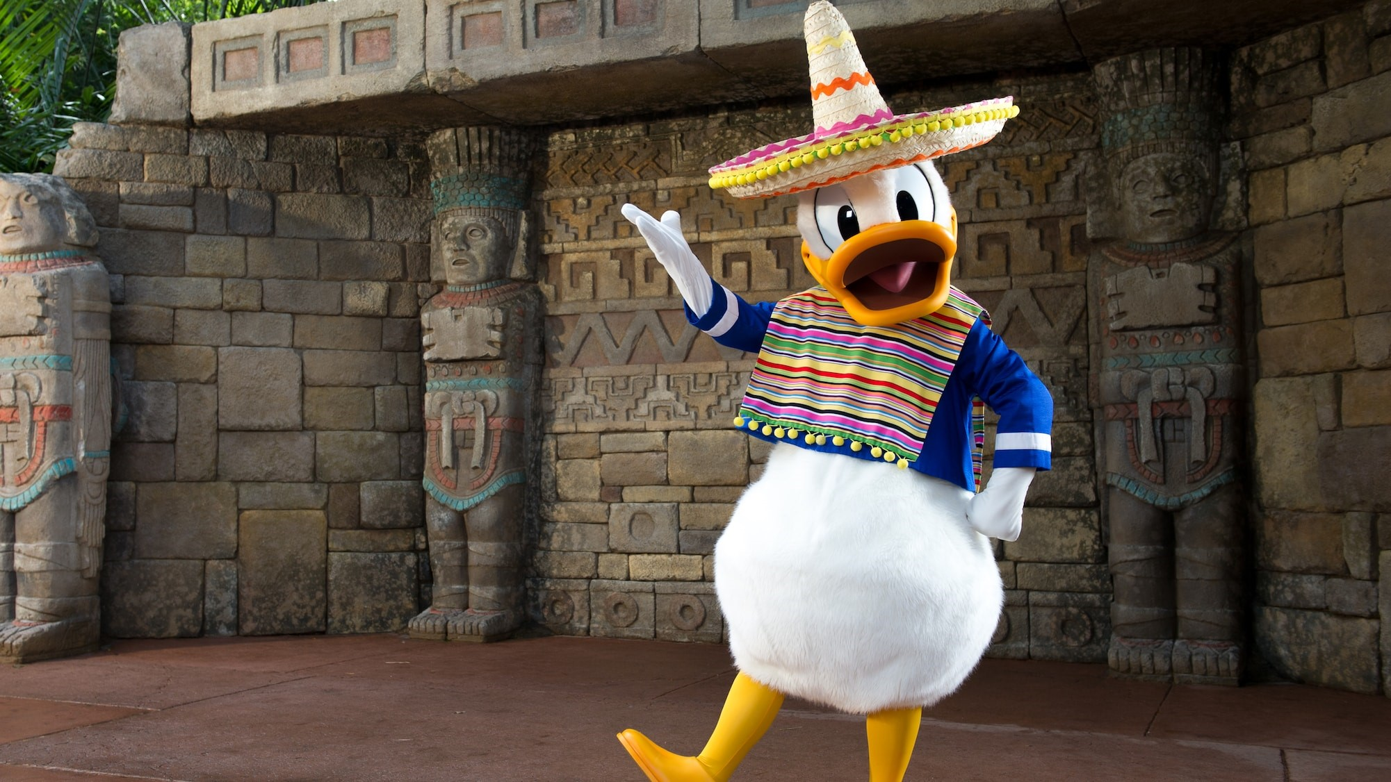 Disney Magic at Home_Donald Duck _ Mexico _ Epcot