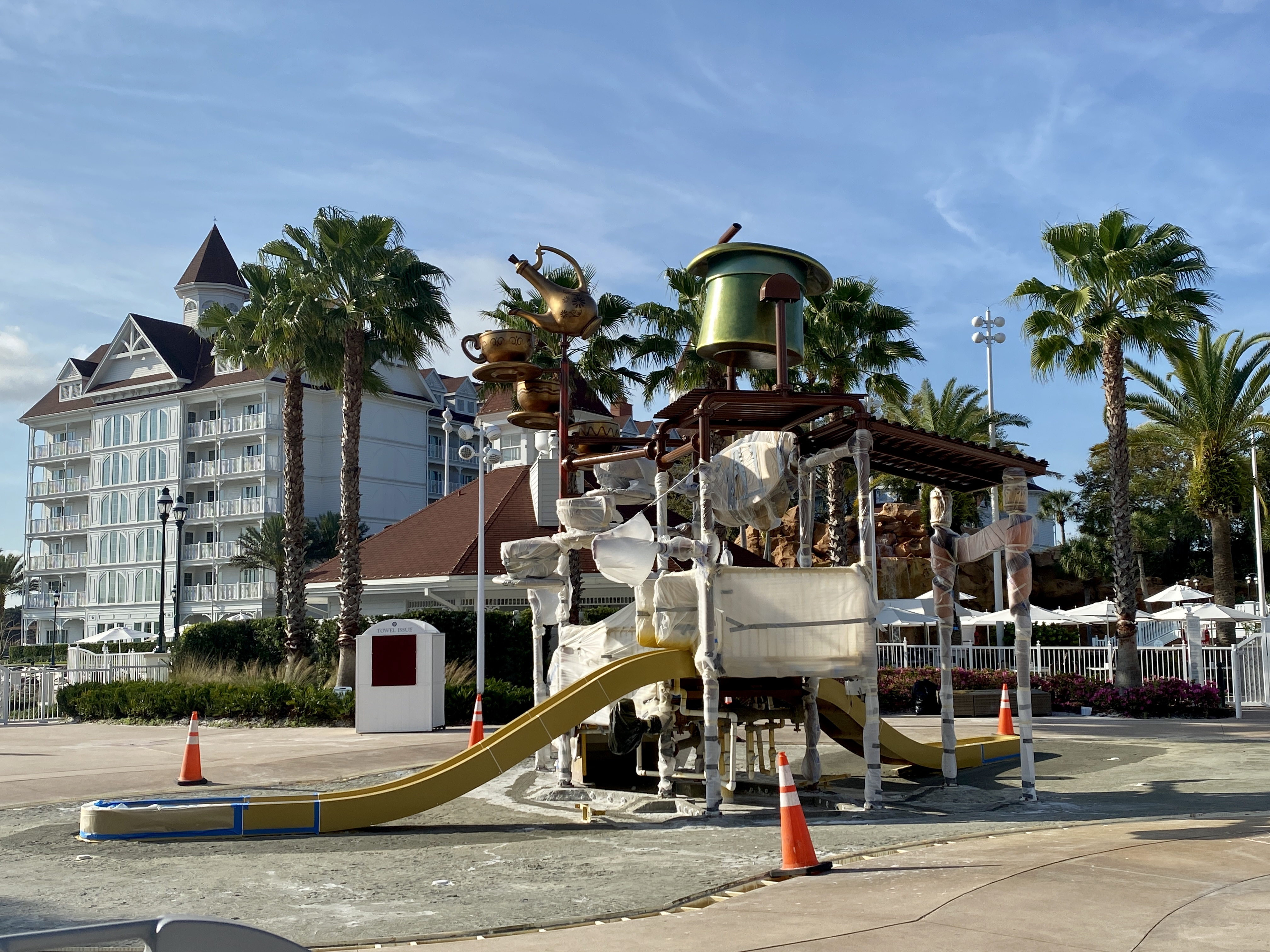 Grand floridian water play