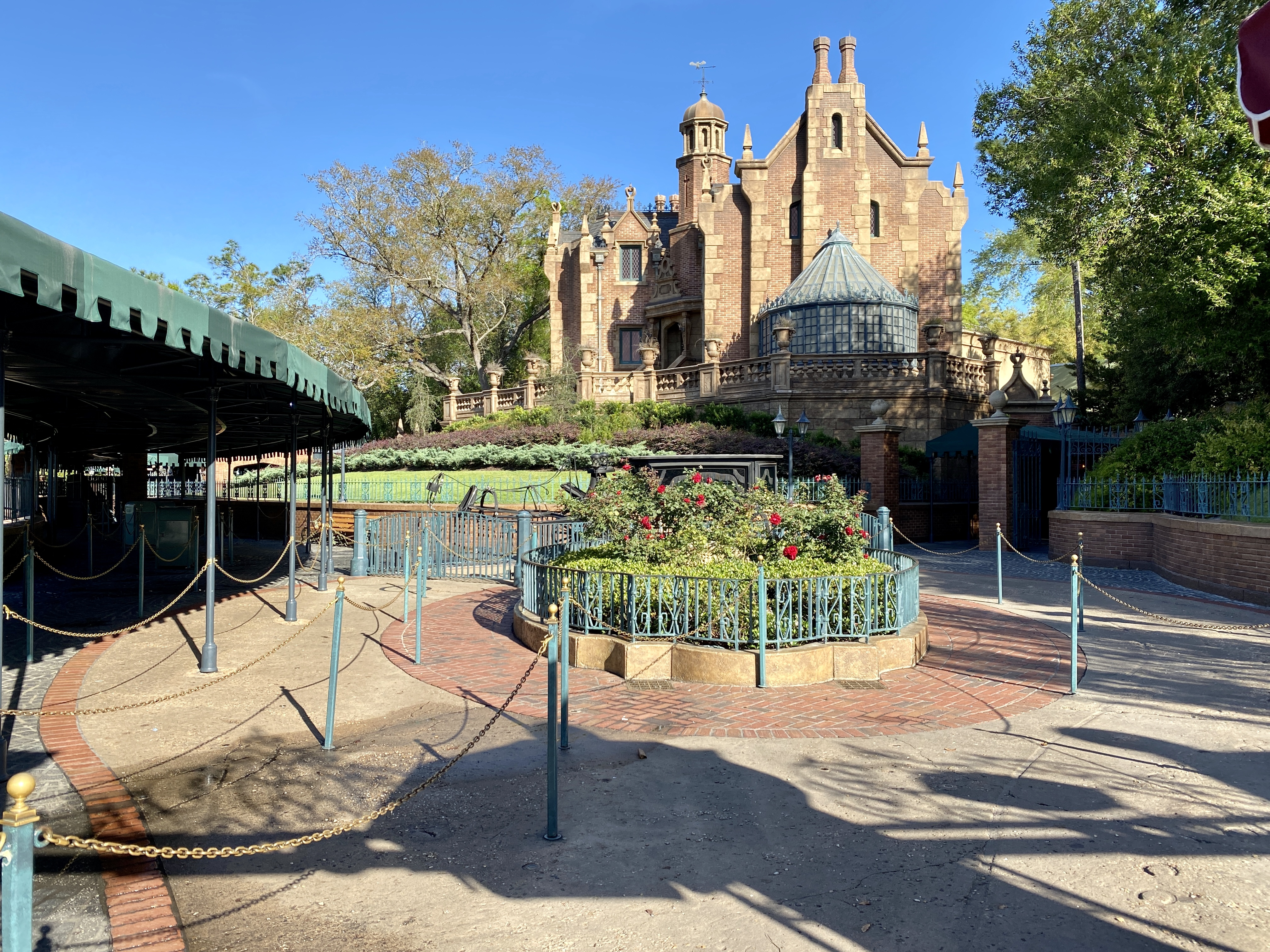 Haunted mansion down