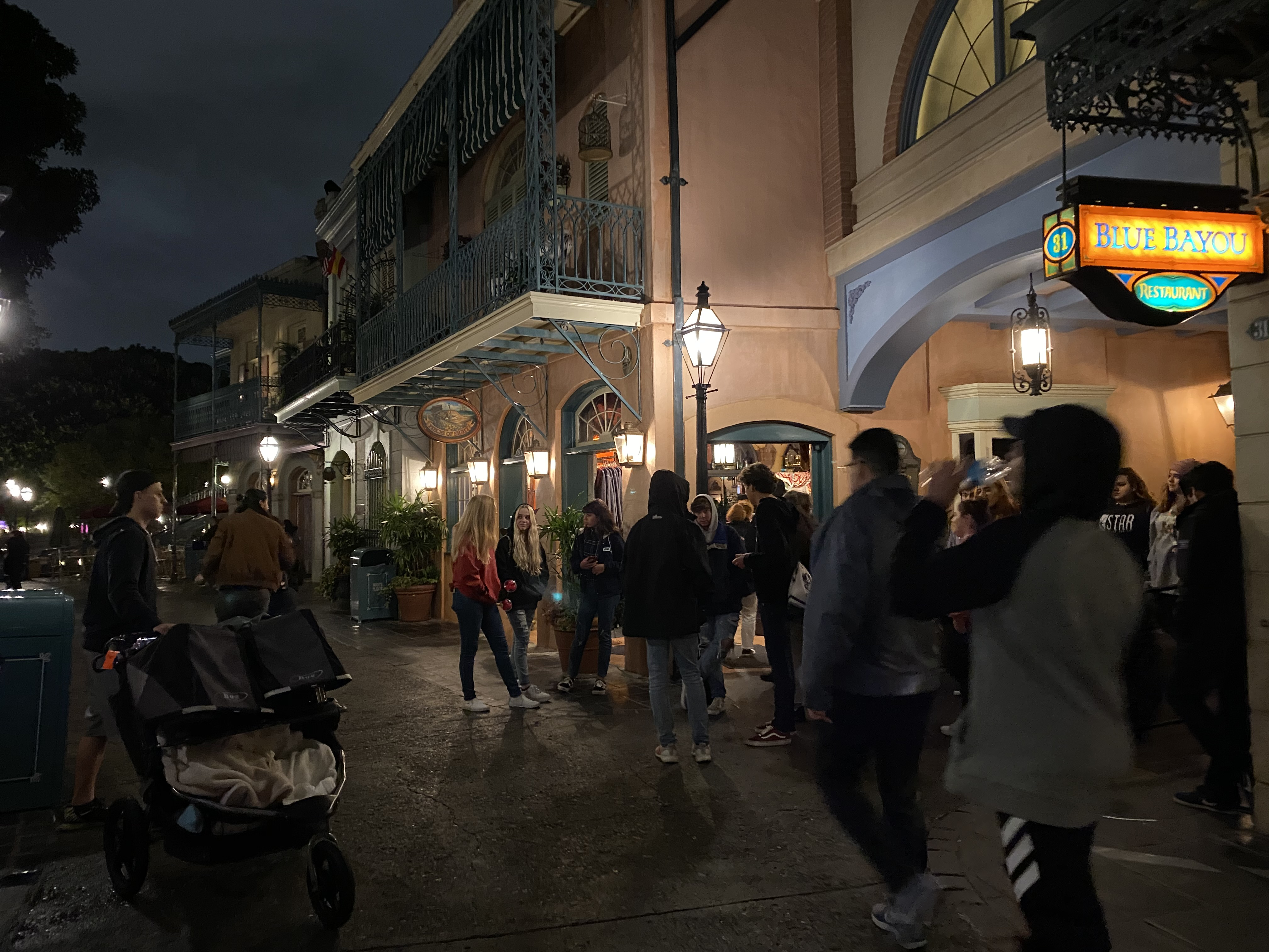 New Orleans Square Disneyland