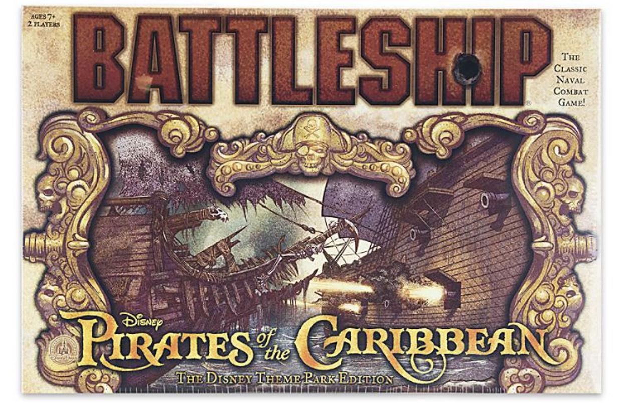 Battleship (Pirates of the Caribbean - The Disney Theme Park Edition)
