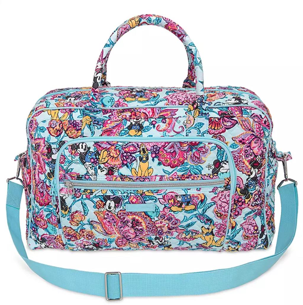 colorful garden vera bradley travel bag