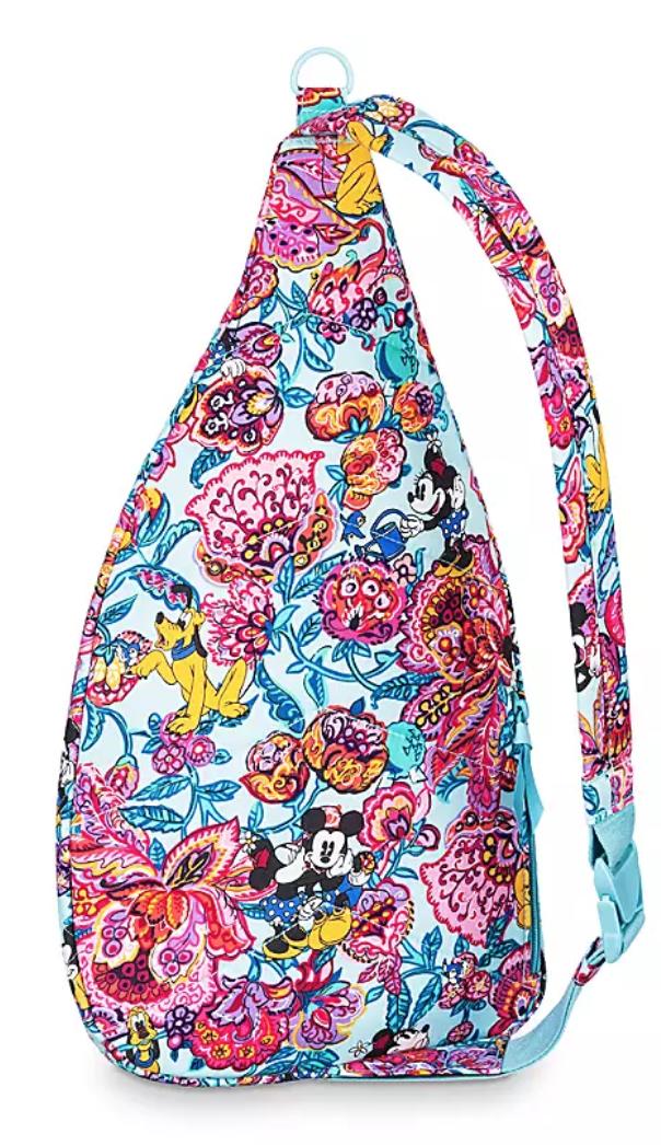 colorful garden vera bradley sling backpack