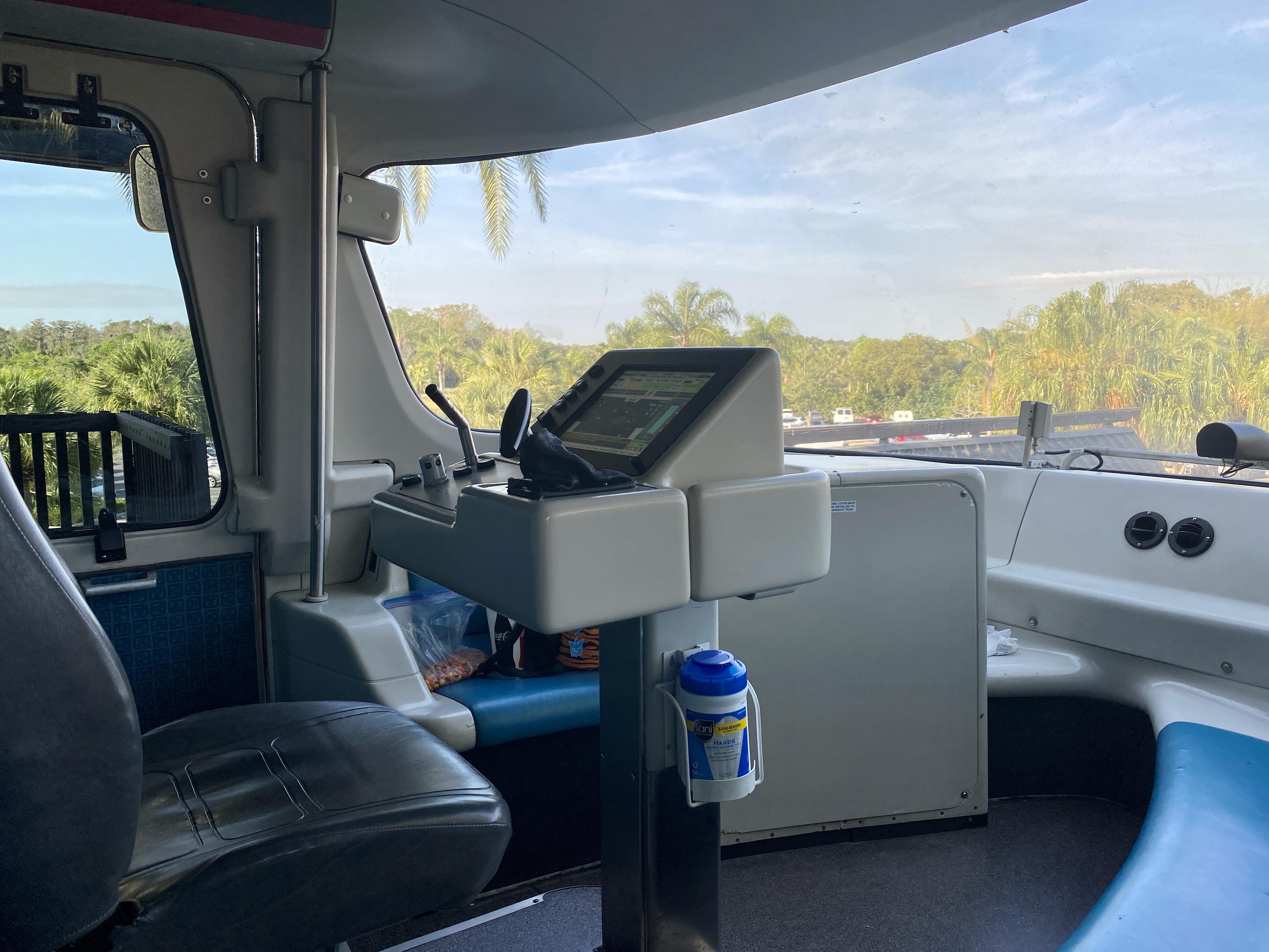 Monorail driver control