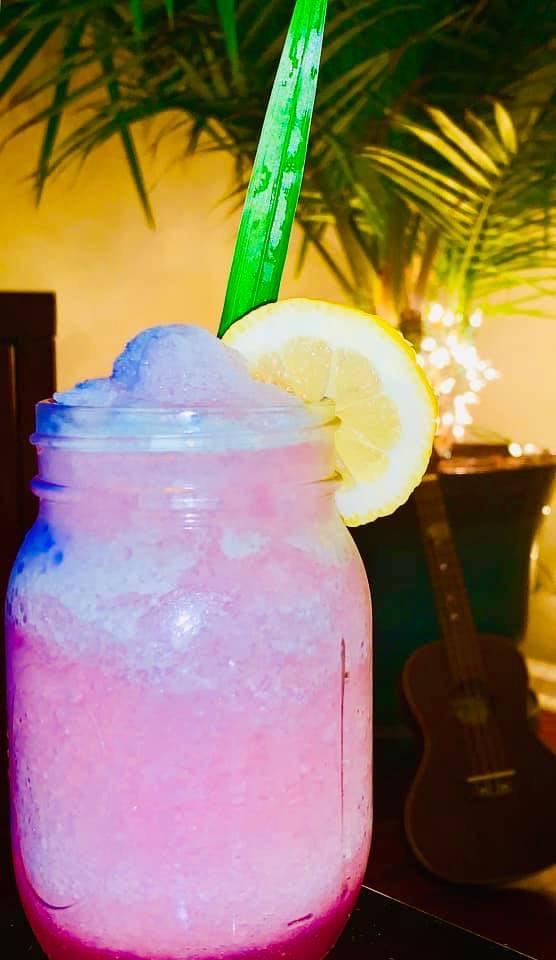 Homemade Copycat Epcot's Violet Lemonade