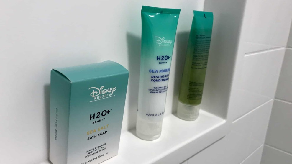 Toiletries from Disney Resorts