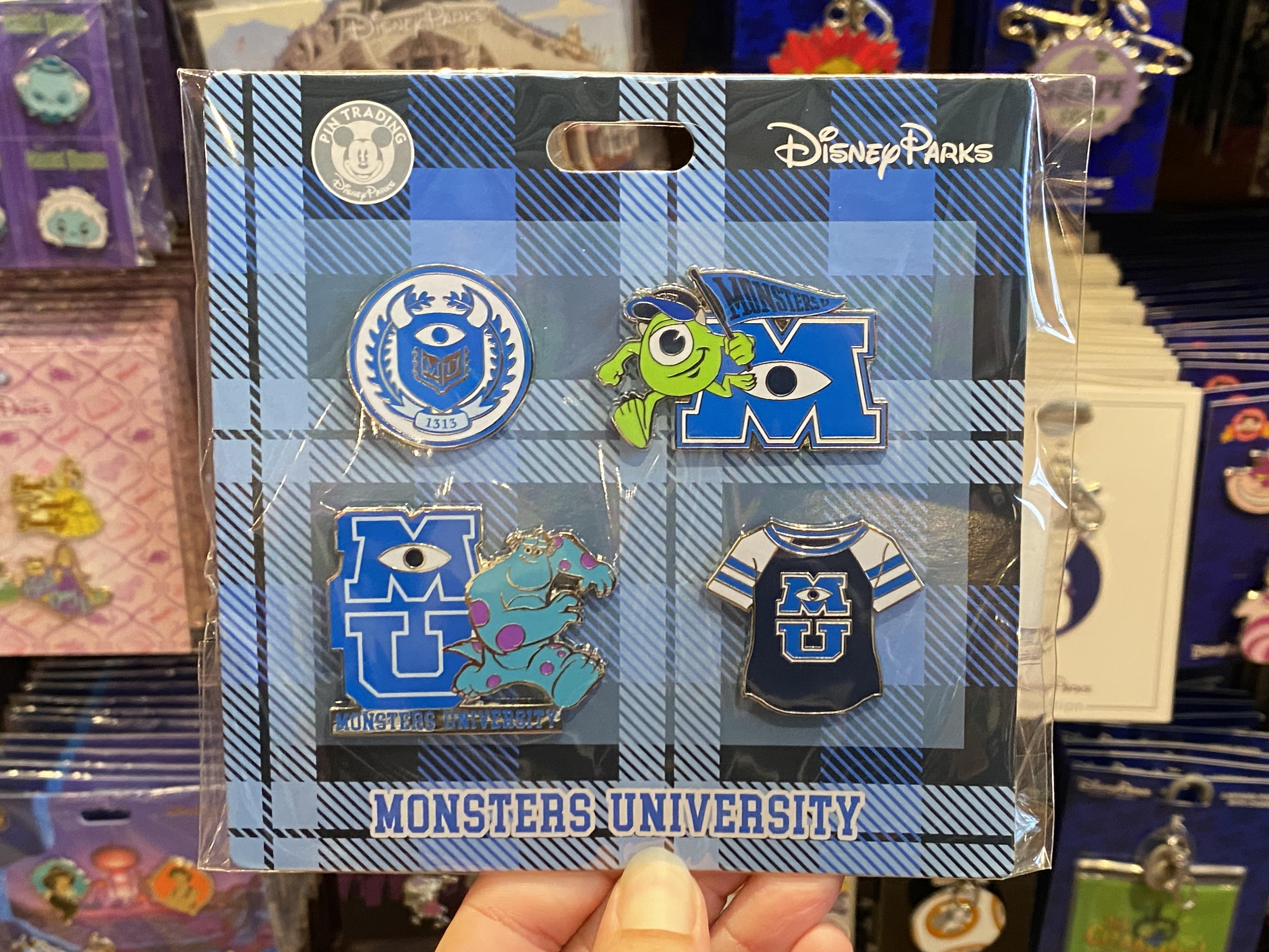 Monsters university pin pack