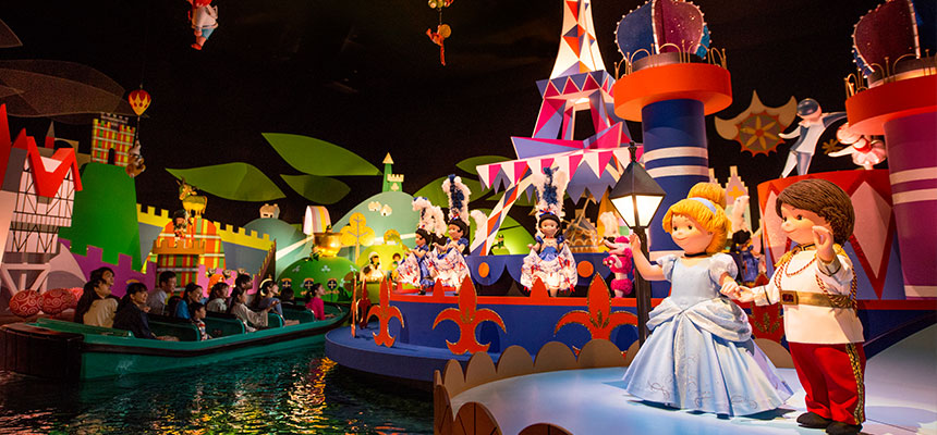 """VIDEO: Take a Virtual Ride on """"it's a small world"""" From Disney ..."""