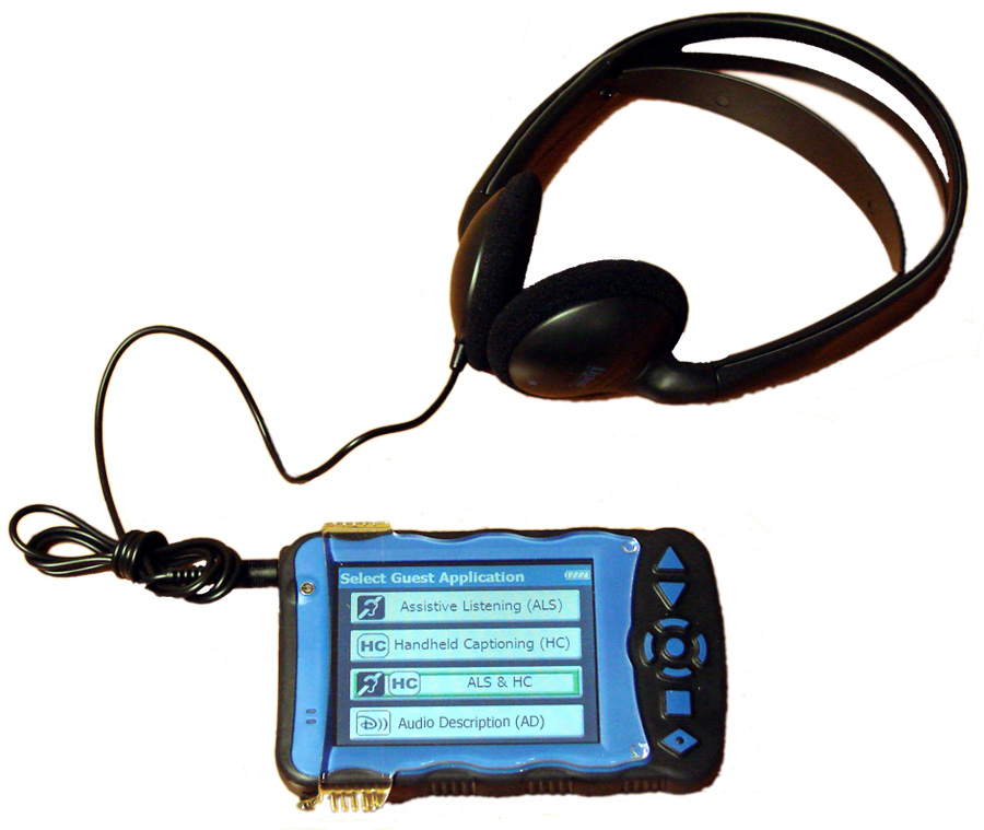 disney handheld accessibility device