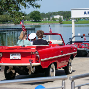 Amphicars Launch Once Again