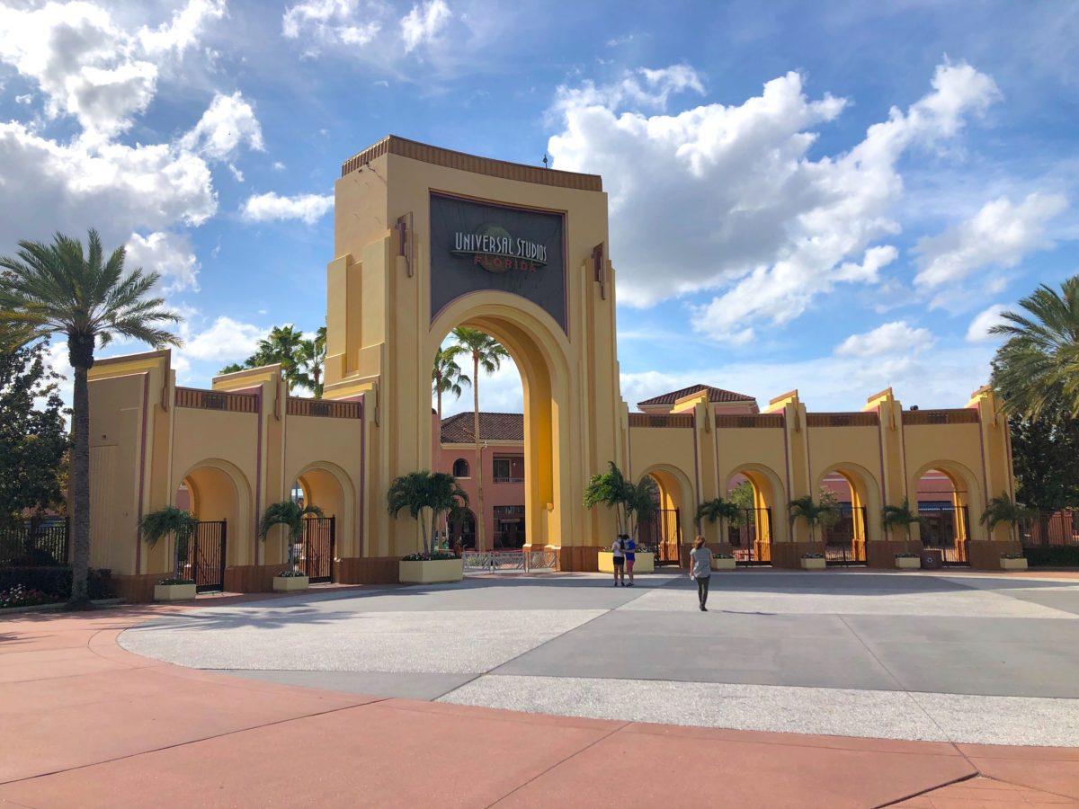 Universal Studios Florida Entrance Archway