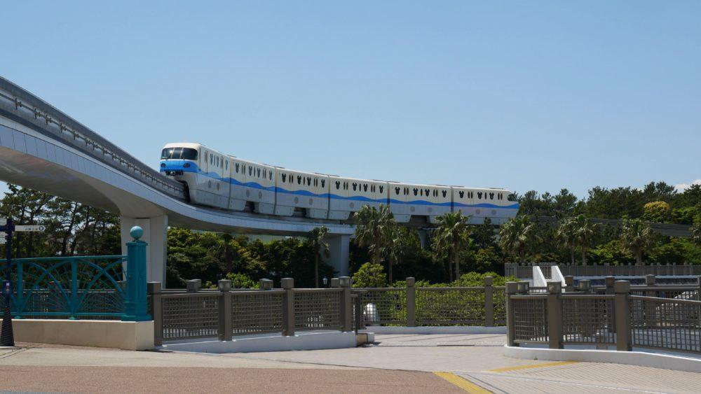 Disney Resort Line Tokyo Train Monorail