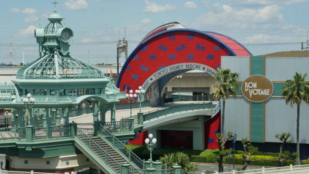 Tokyo Disneyland Entrance Path