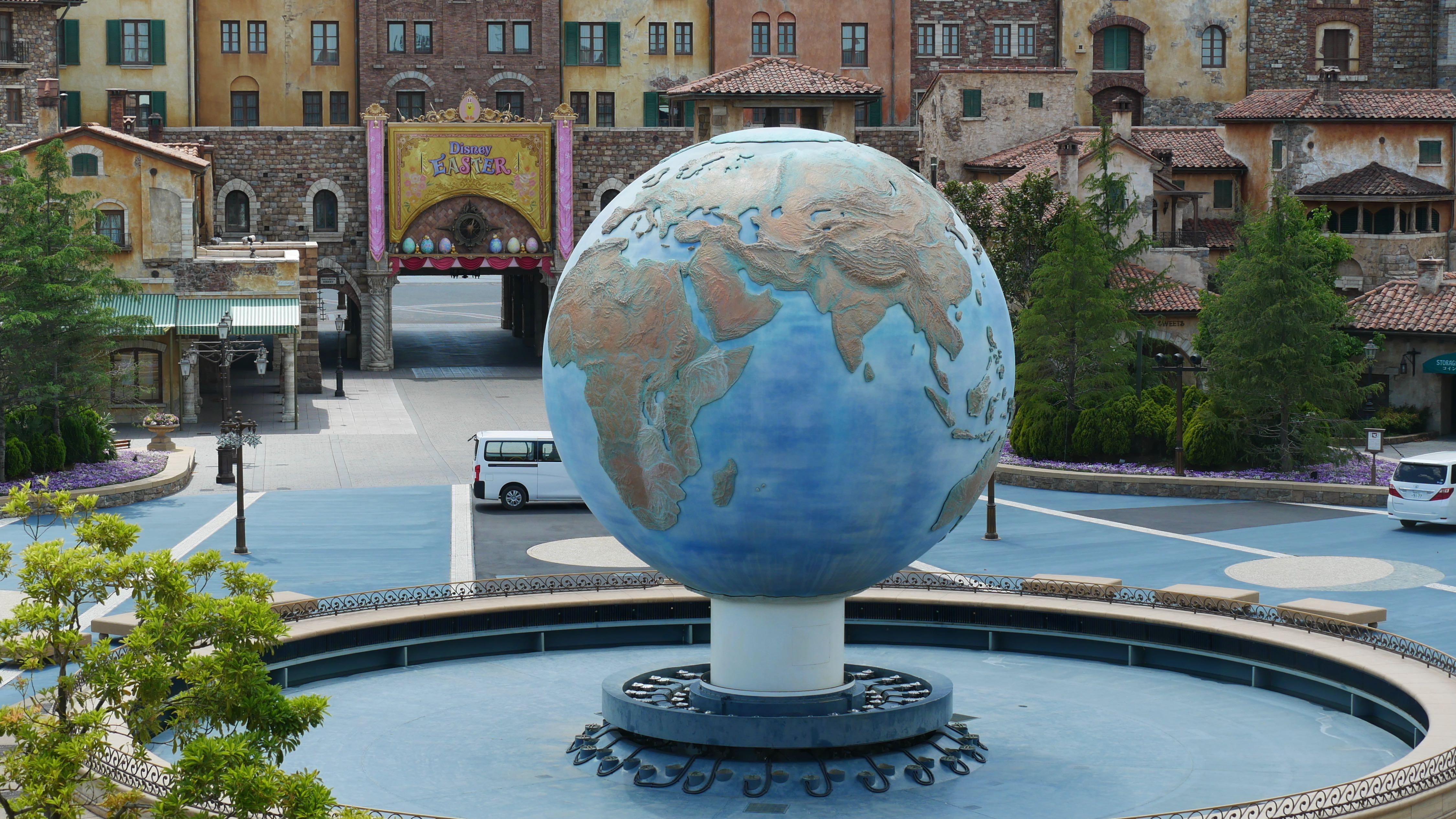 Tokyo DisneySea AquaSphere Dry Temporary Closure