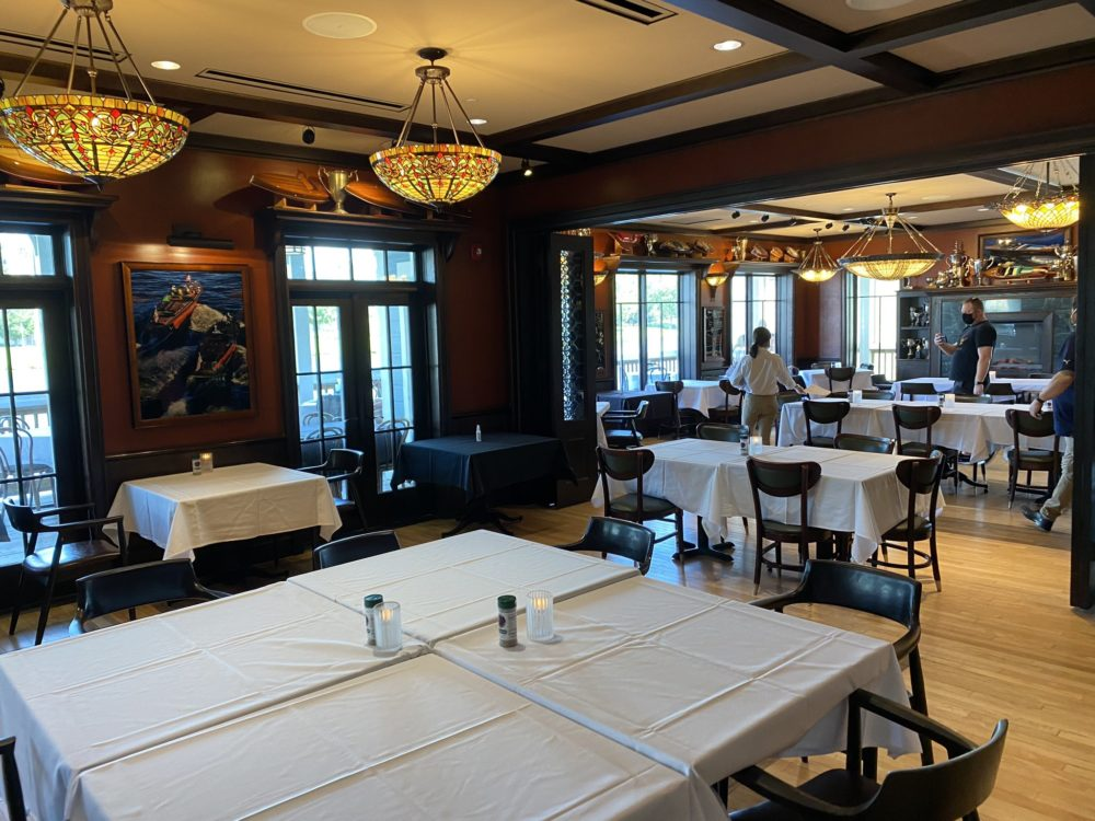The Boathouse Reopens with Social Distancing and a Limited Menu at Disney Springs