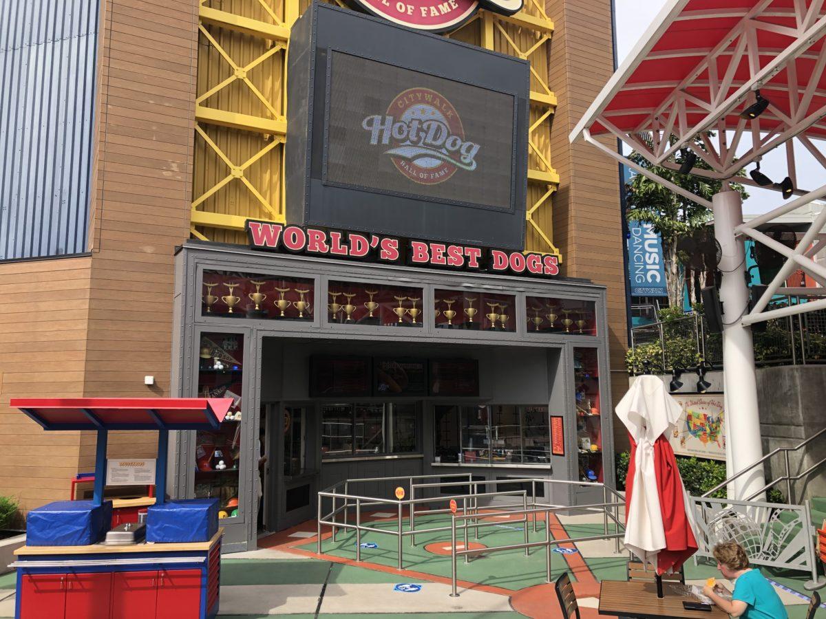 Hot Dog Hall of Fame CityWalk