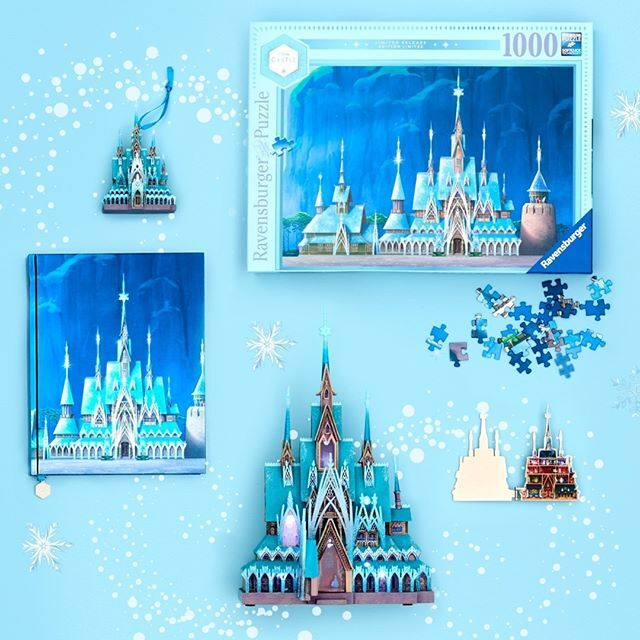 arendelle castle collection frozen