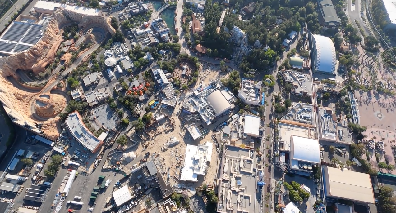 Photos Video New Hd Helicopter Footage Shows Aerial Views Of Avengers Campus Construction At Disney California Adventure Wdw News Today