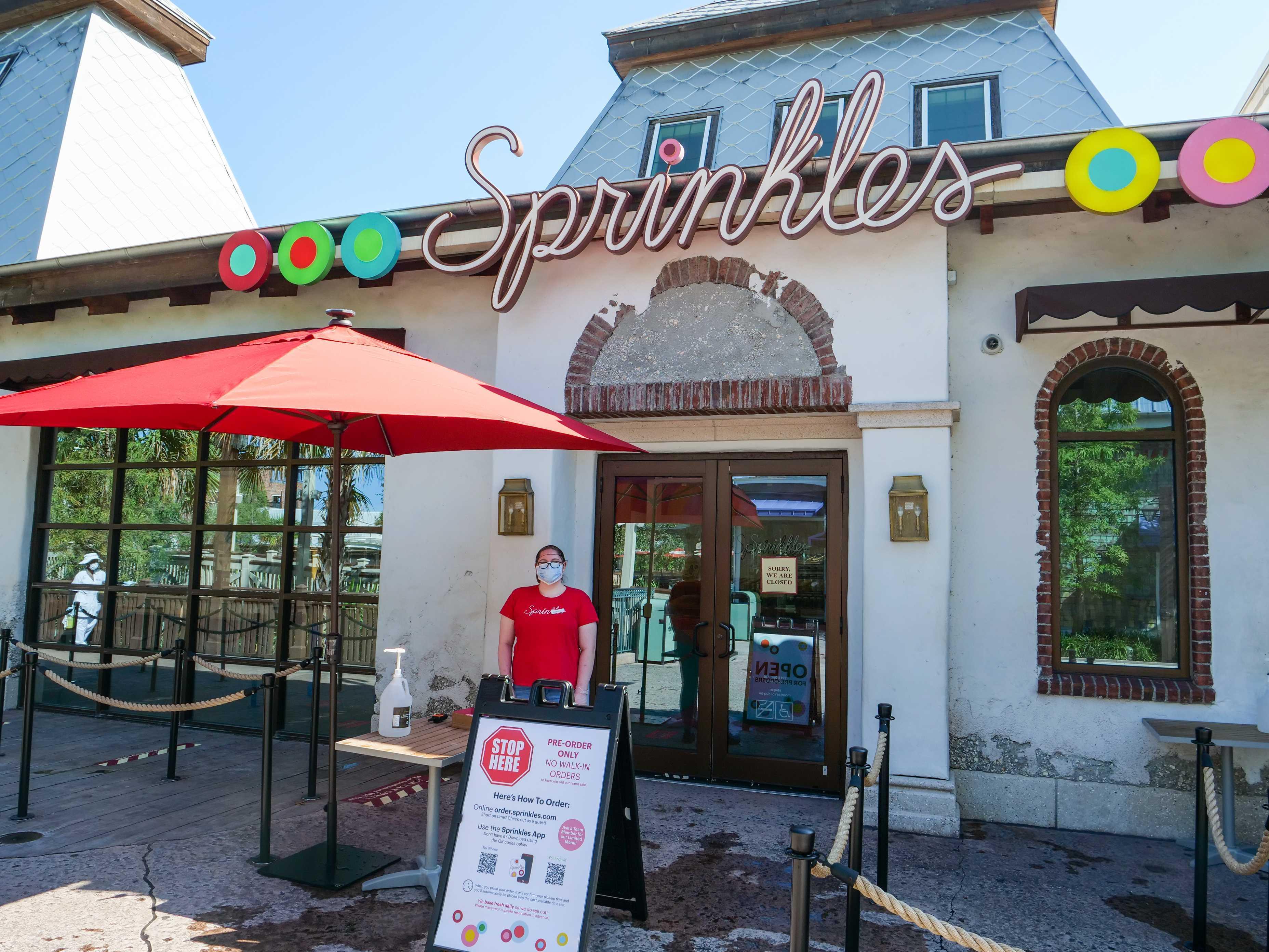 sprinkles reopening