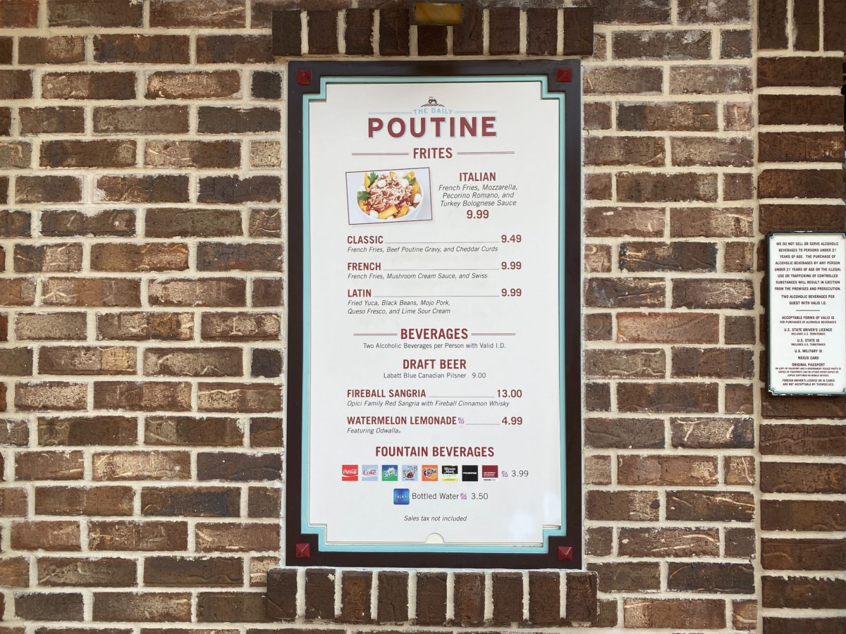 The Daily Poutine Reopens at Disney Springs