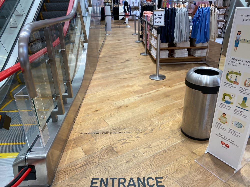 UNIQLO Reopens with Social Distancing, COVID-19 Measures and Fitting Room Changes at Disney Springs